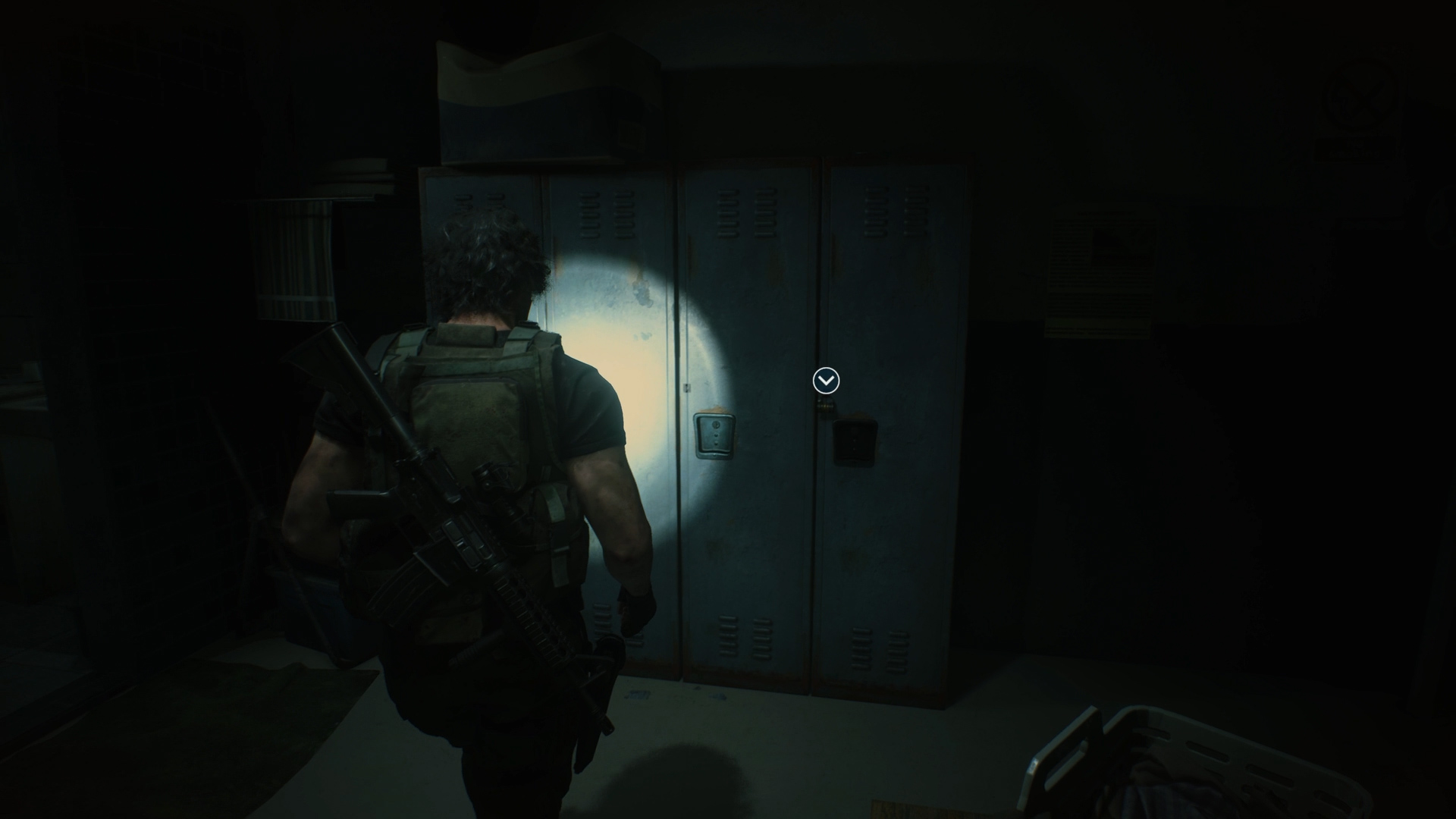Resident Evil 3 locker locations Police Station Shower Room