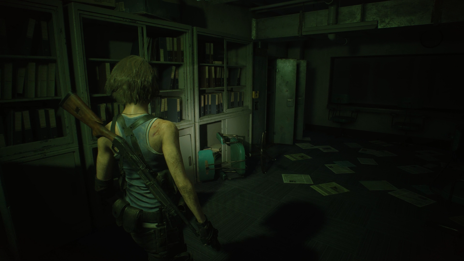 Resident Evil 3 locker locations Subway Office