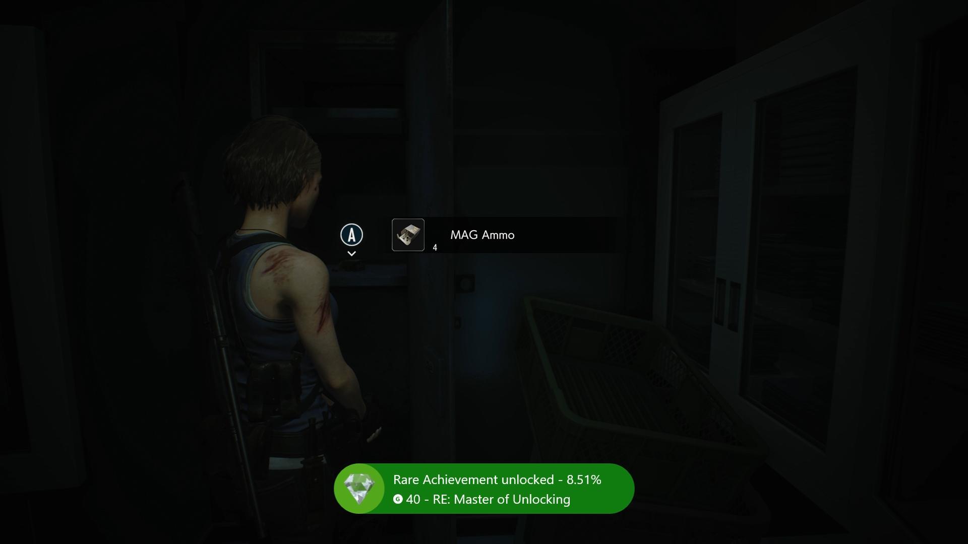 Resident Evil 3 Master of Unlocking