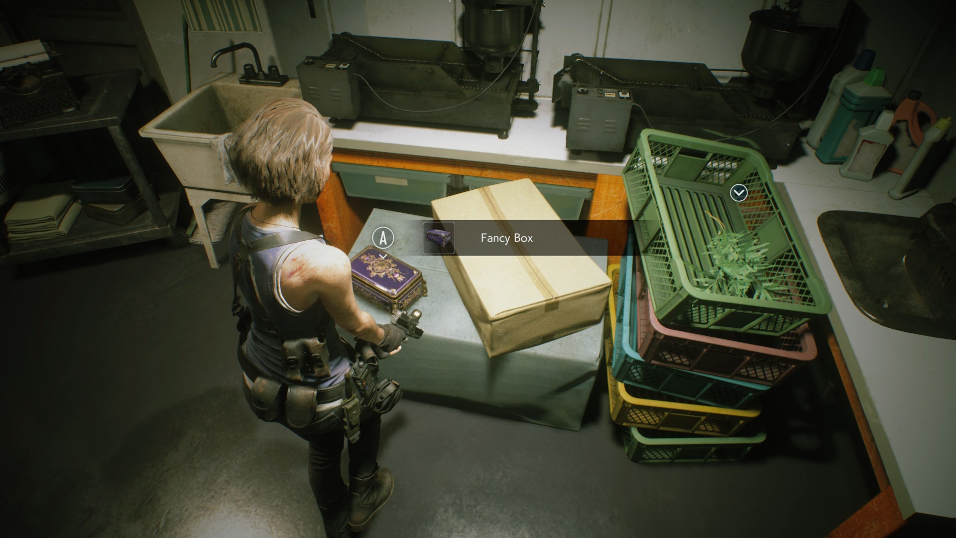 Resident Evil 3 red jewel location Moon's Donut