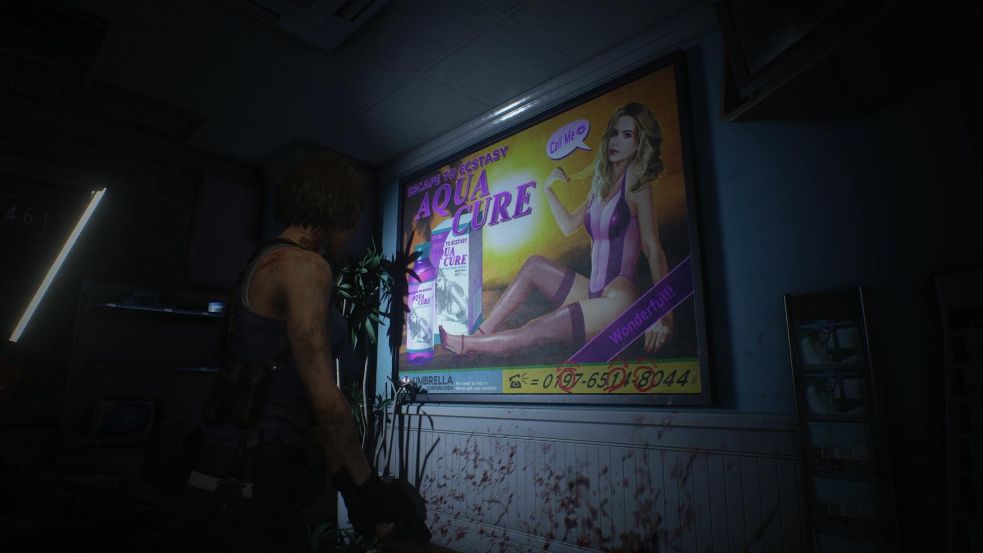 Resident Evil 3 safe code Downtown safe
