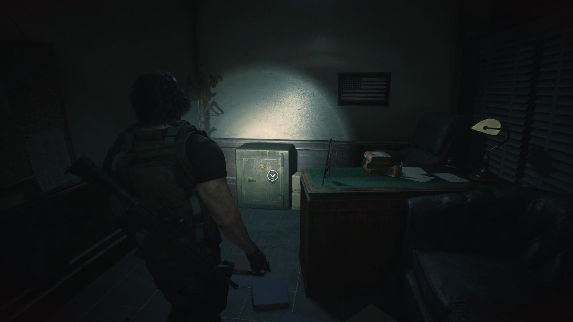 Resident Evil 3 safe codes locations Police Station safe