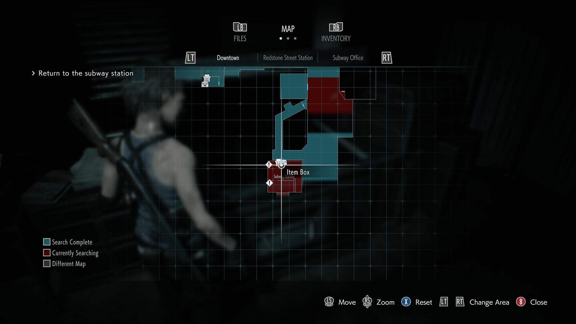 Resident Evil 3 Tactical Stock Shotgun location map