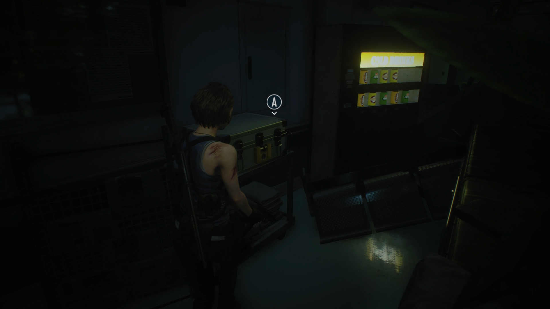 Resident Evil 3 Strongbox locations Hospital Reception vending machine