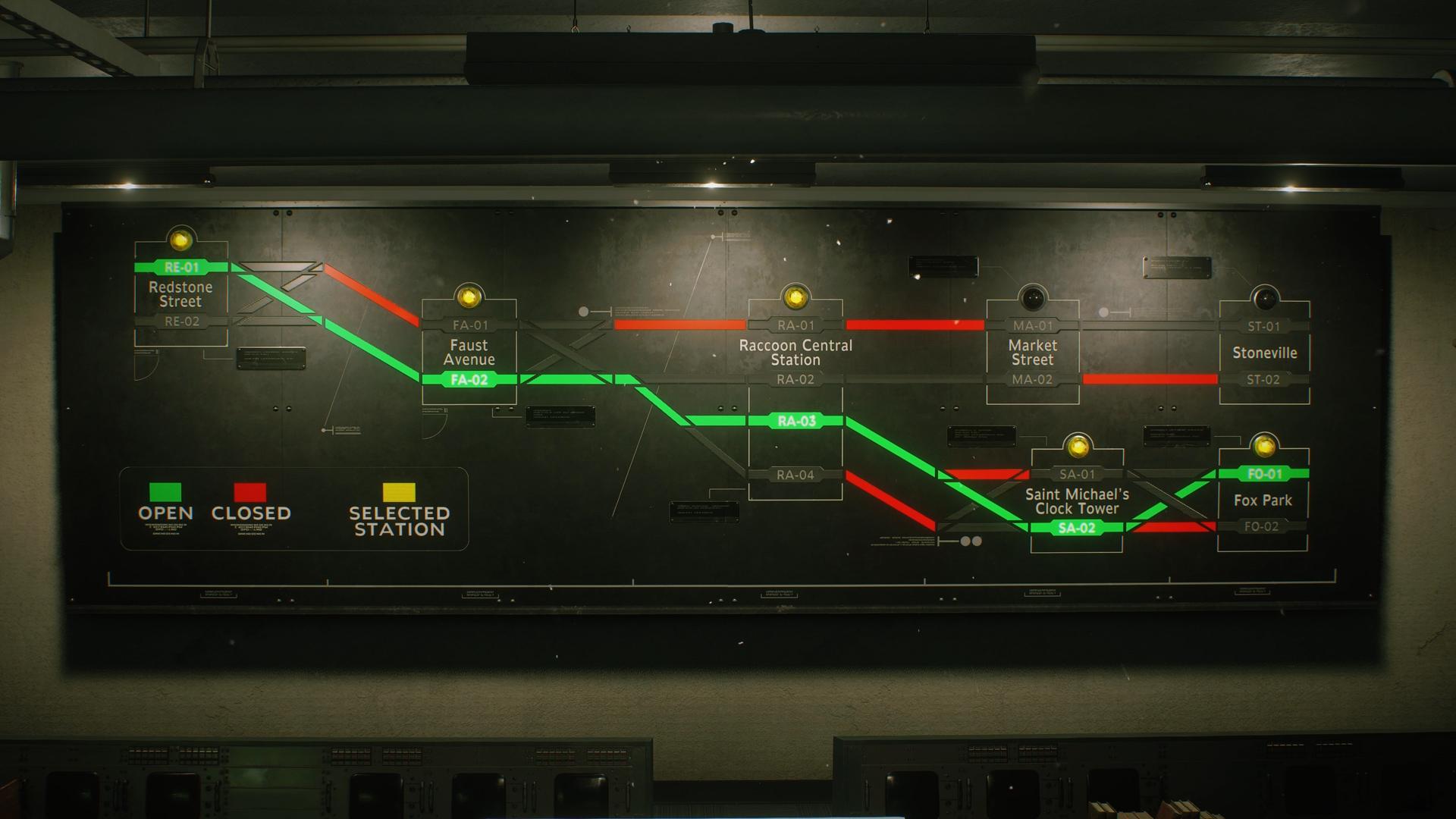 resident evil 3 subway puzzle