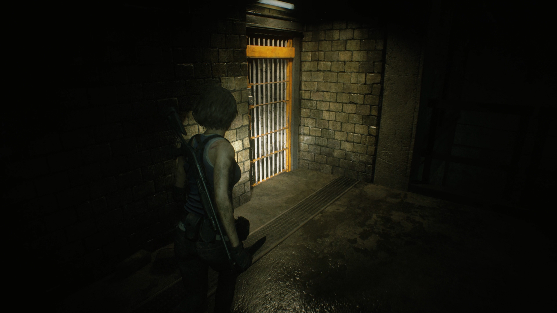 Resident Evil 3 battery pack unlock gate