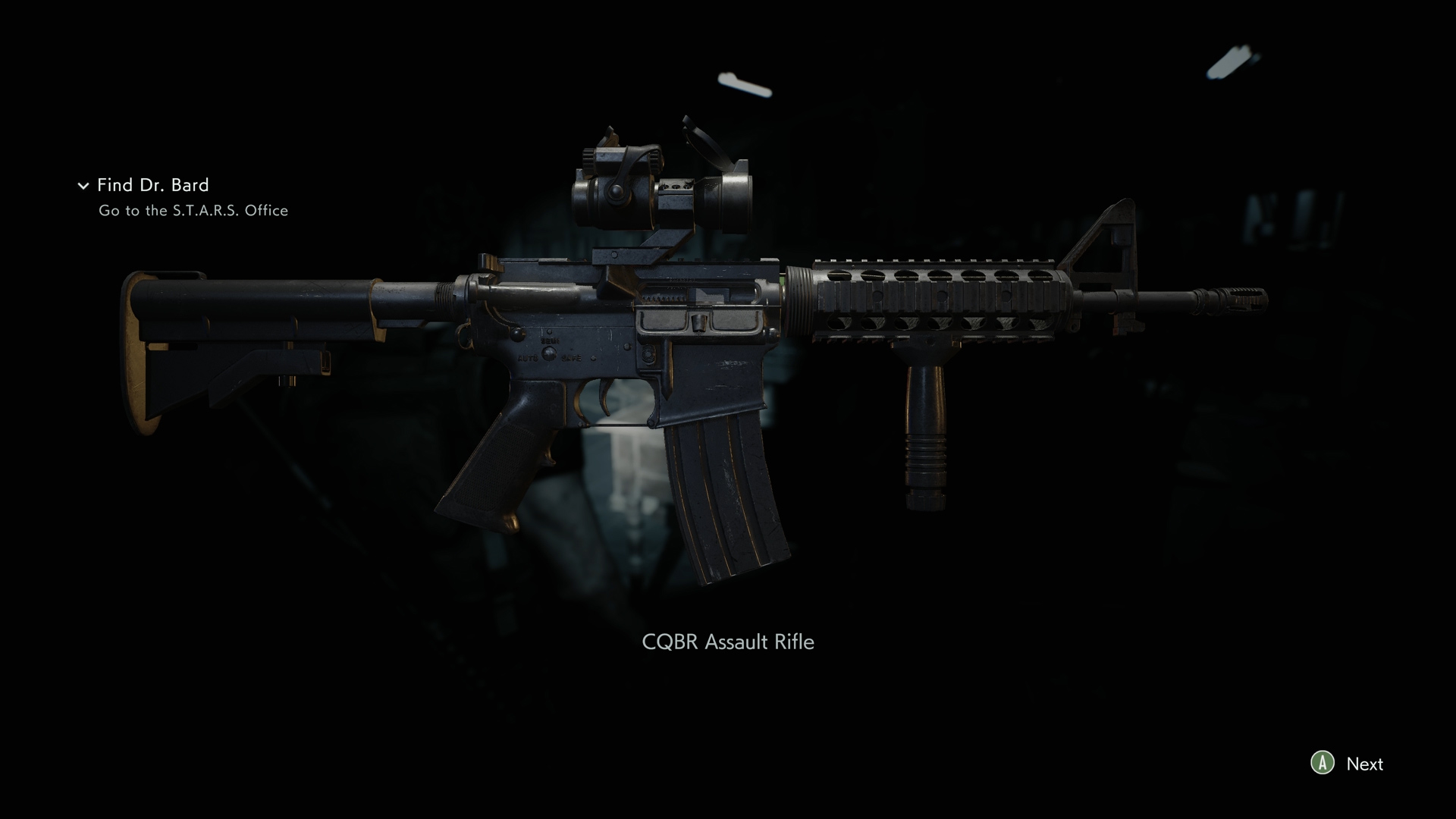 Resident Evil 3 CQBR Assault Rifle