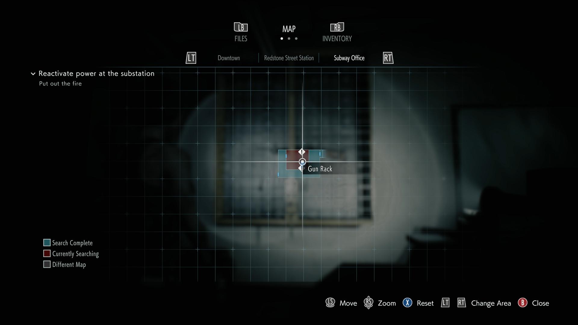 Resident Evil 3 M3 Shotgun map