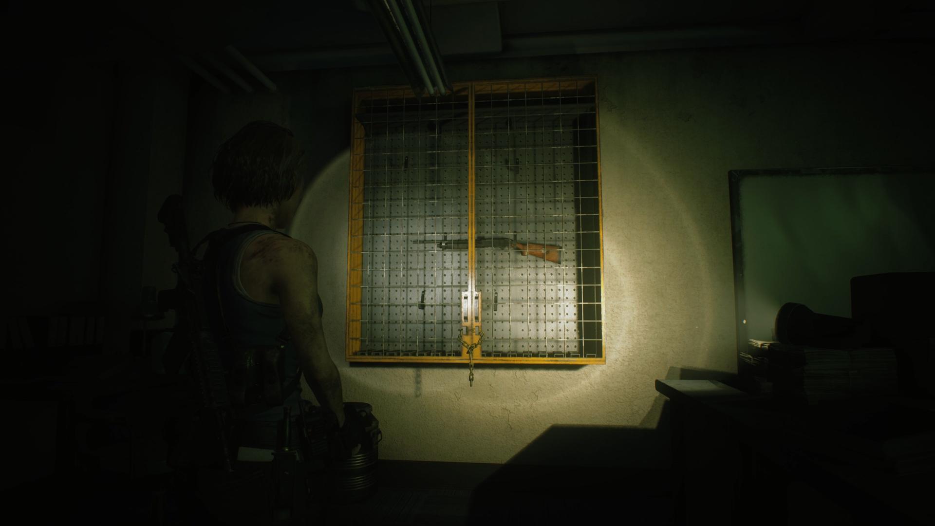 Resident Evil 3 M3 Shotgun