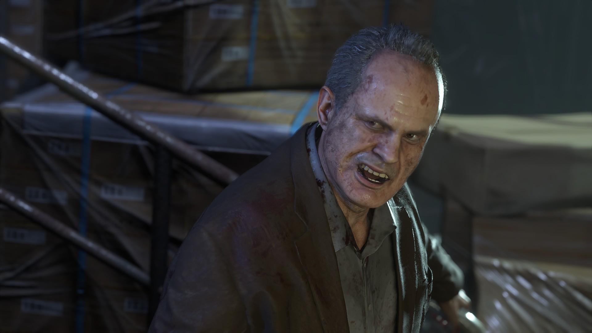 Resident Evil 3 voice actors Dario Rosso Rick Zieff