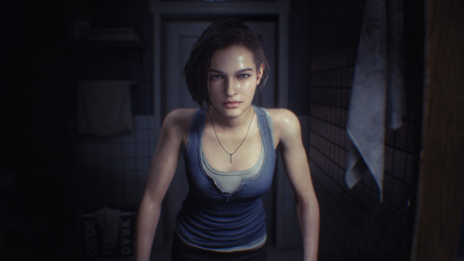 Resident Evil 3 voice actors Jill Valentine Nicole Tompkins