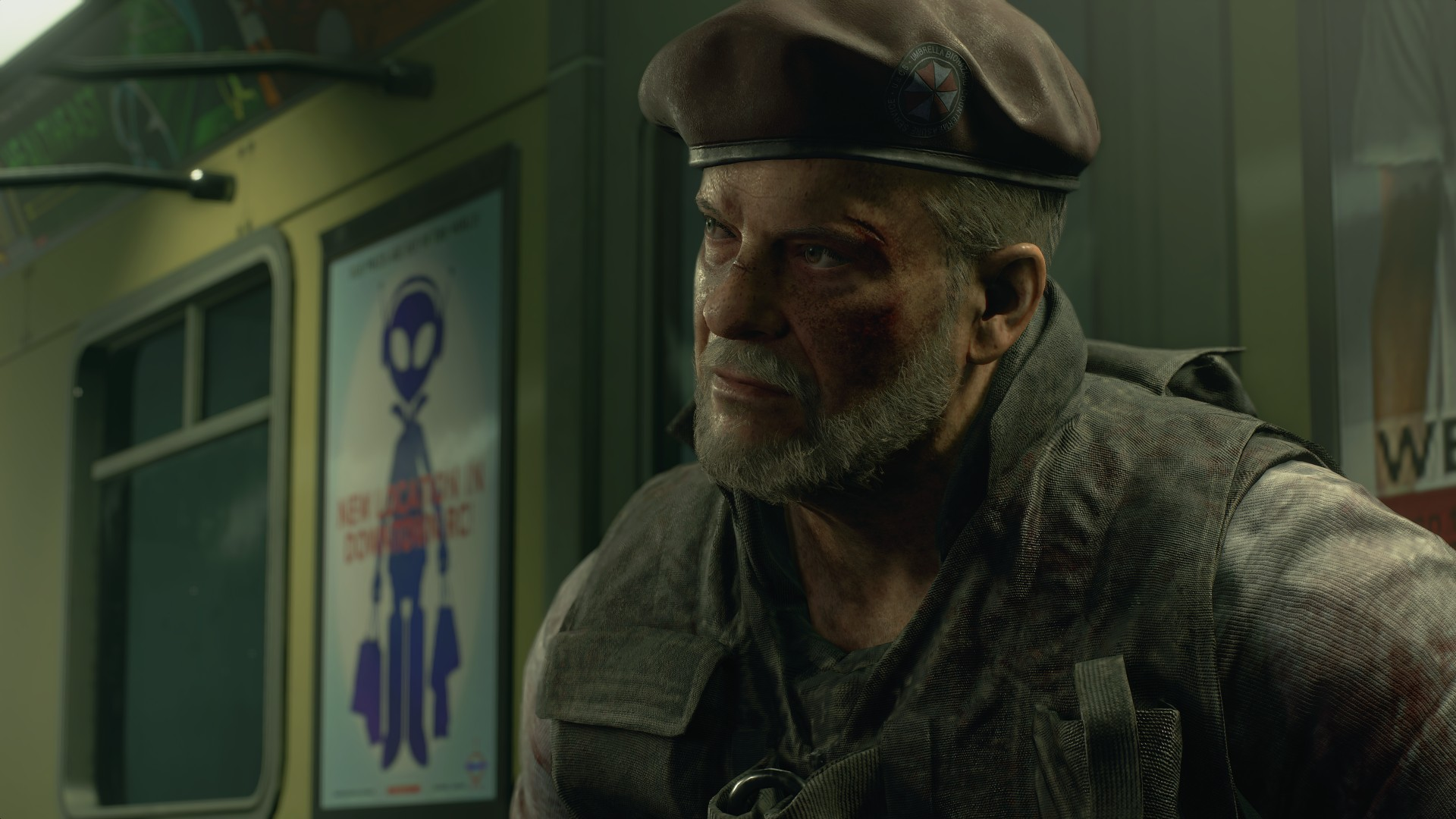 Resident Evil 3 voice actors Mikhail Victor William Hope
