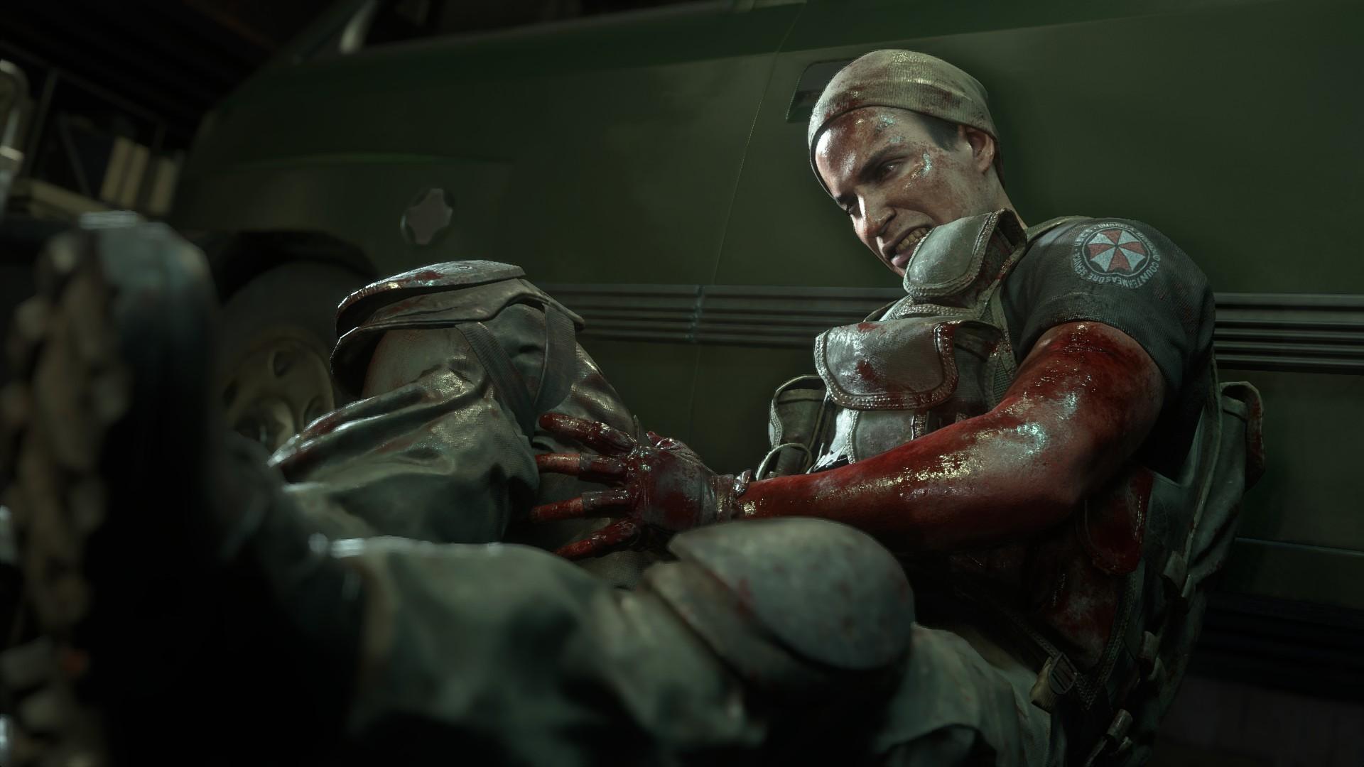 Resident Evil 3 voice actors Murphy Seeker Todd Haberkorn