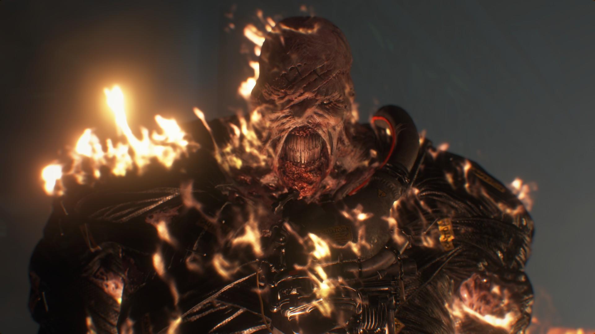 Resident Evil 3 voice actors Nemesis David Cockman