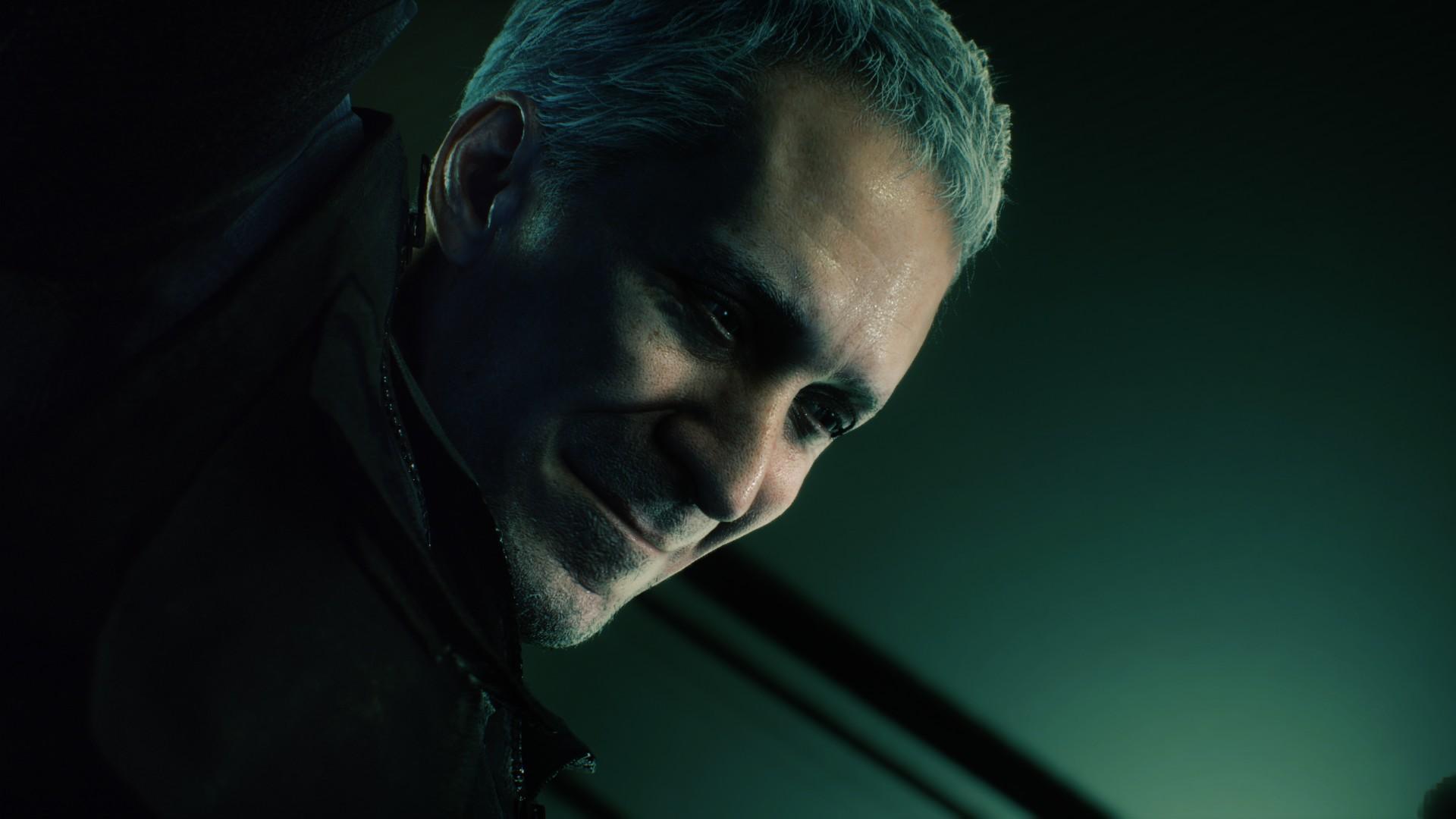 Resident Evil 3 voice actors Nicholai Ginovaef Neil Newbon