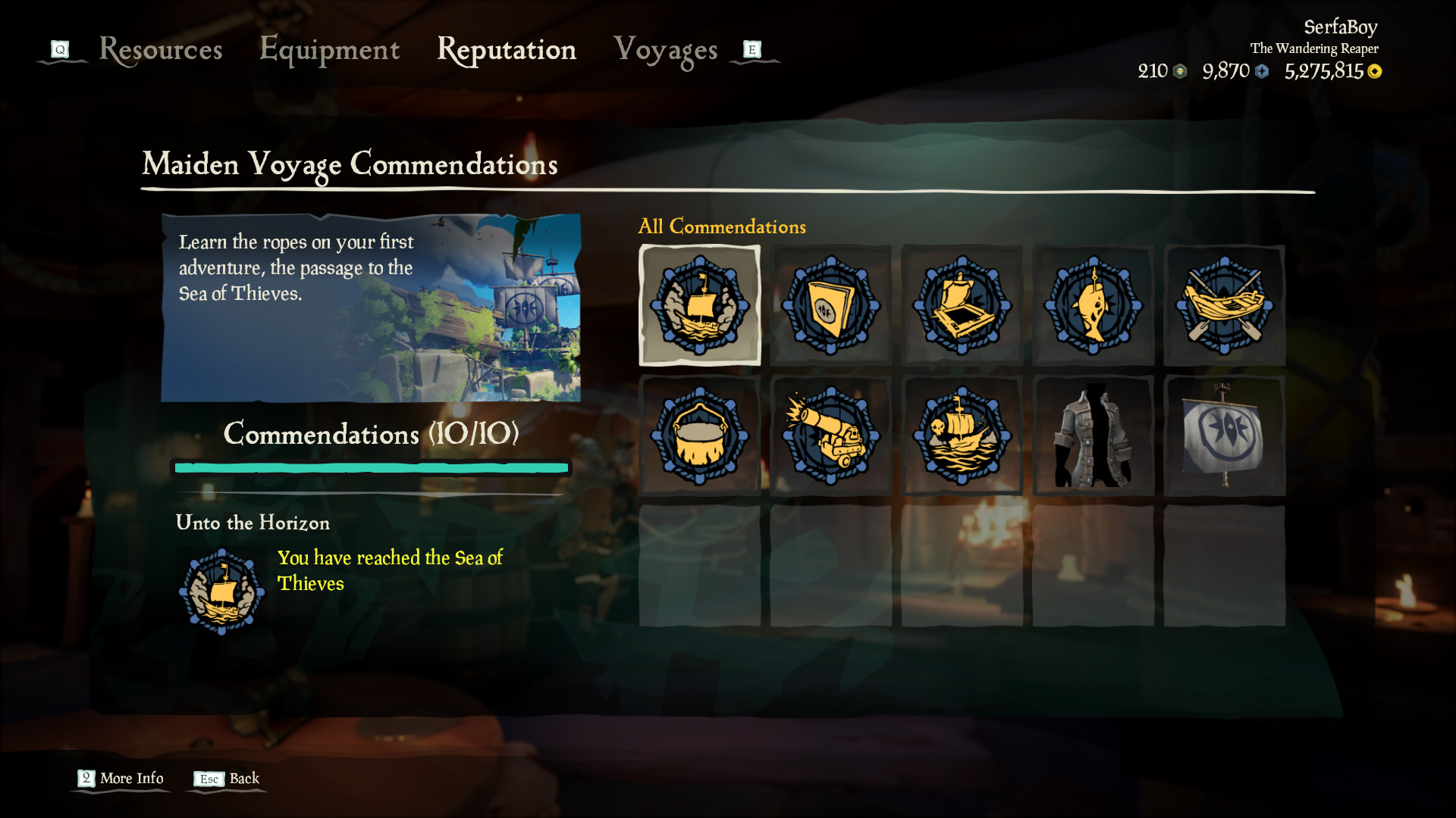 sea of thieves tall tale order maiden voyage