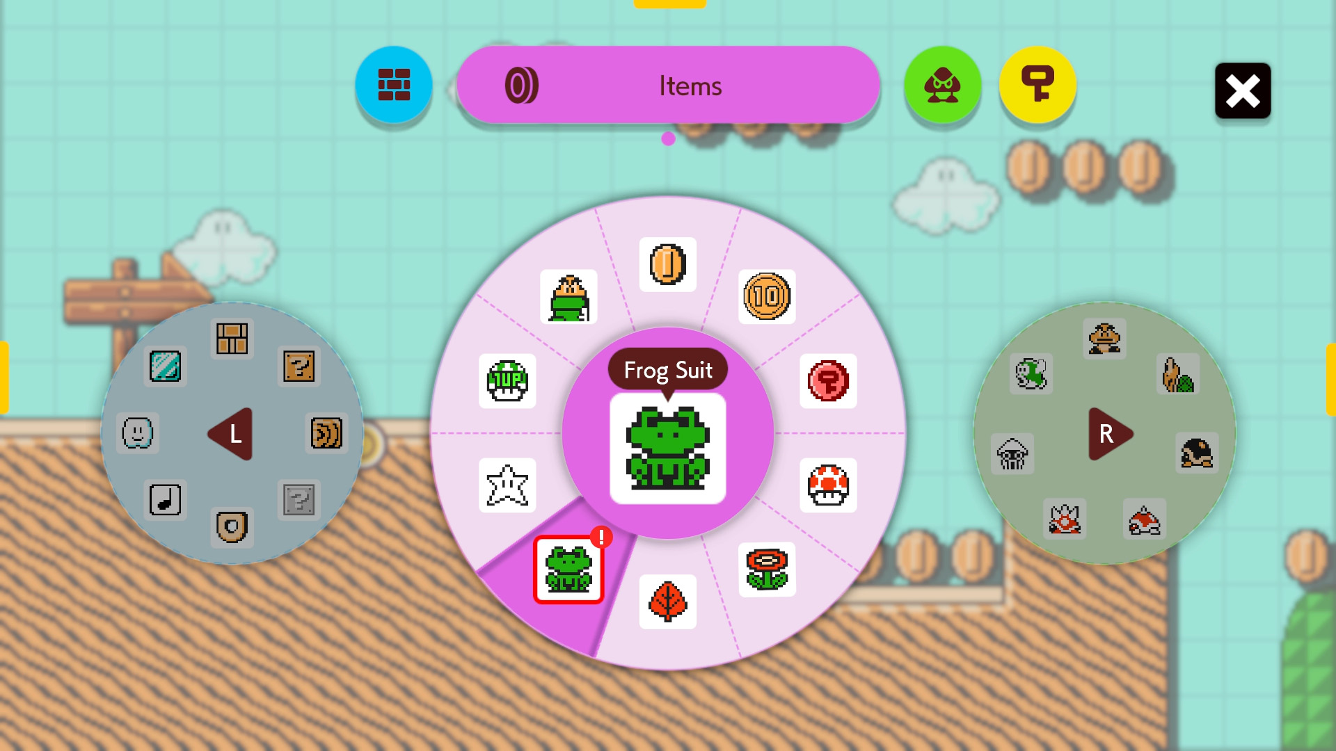 Super Mario Maker 2 Frog Suit