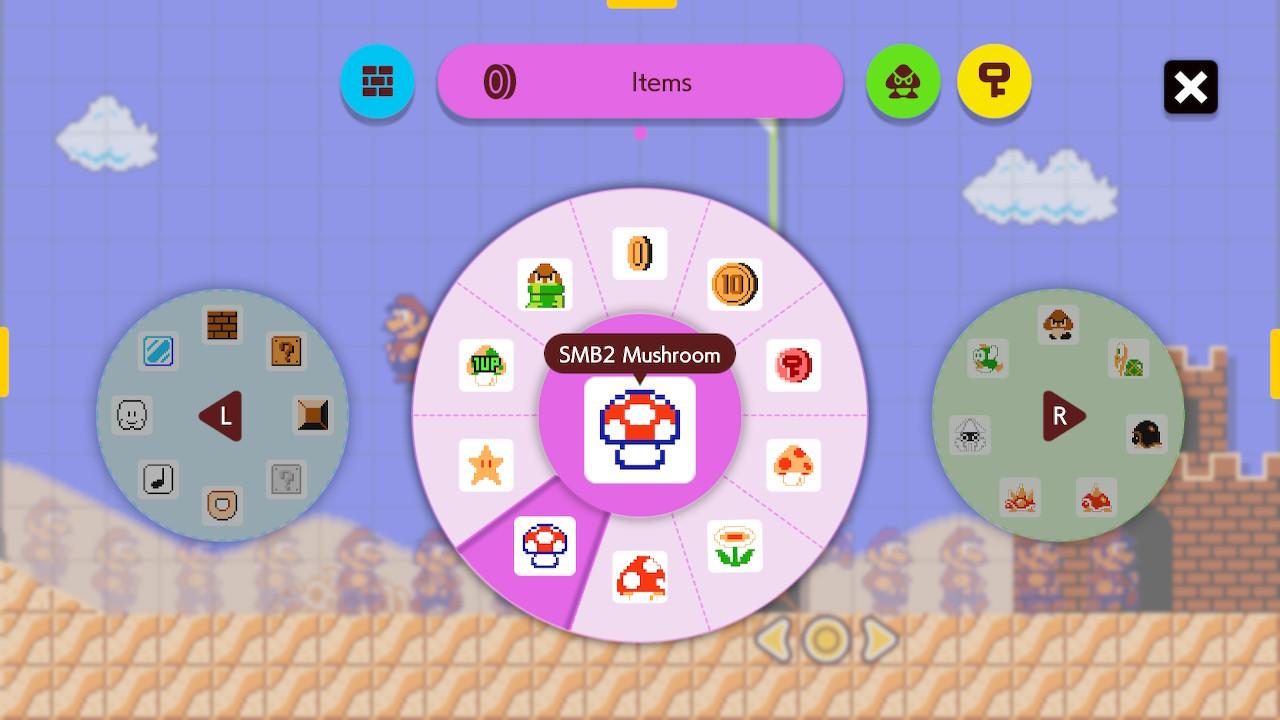 Nhà sản xuất Super Mario 2 Nấm SMB2