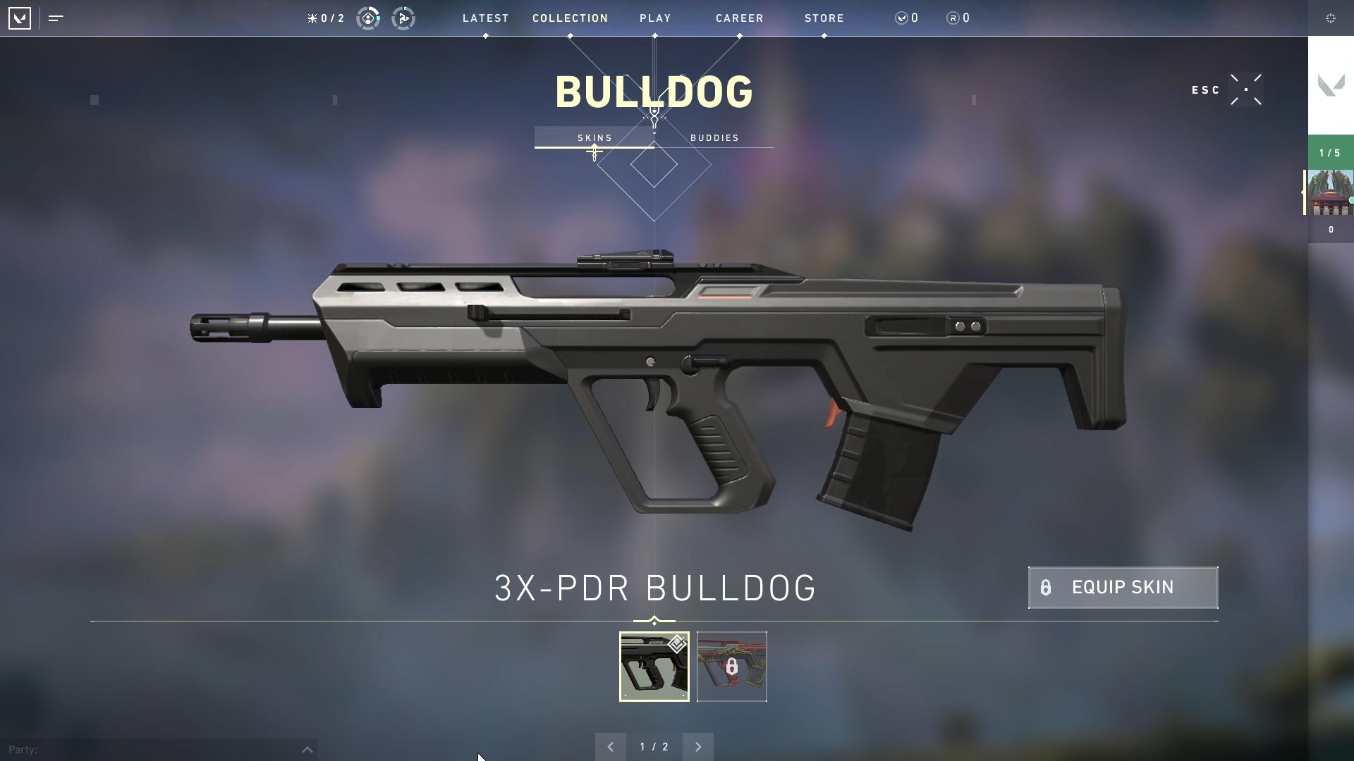 Valorant weapon stats Bulldog