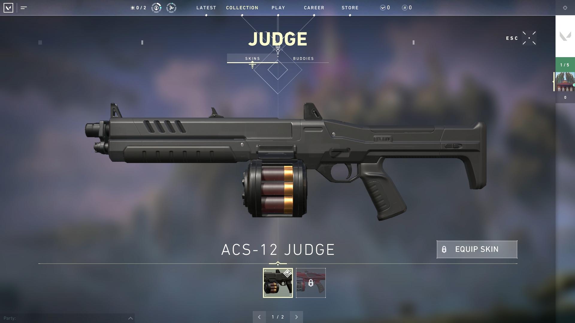 Valorant weapon stats Judge