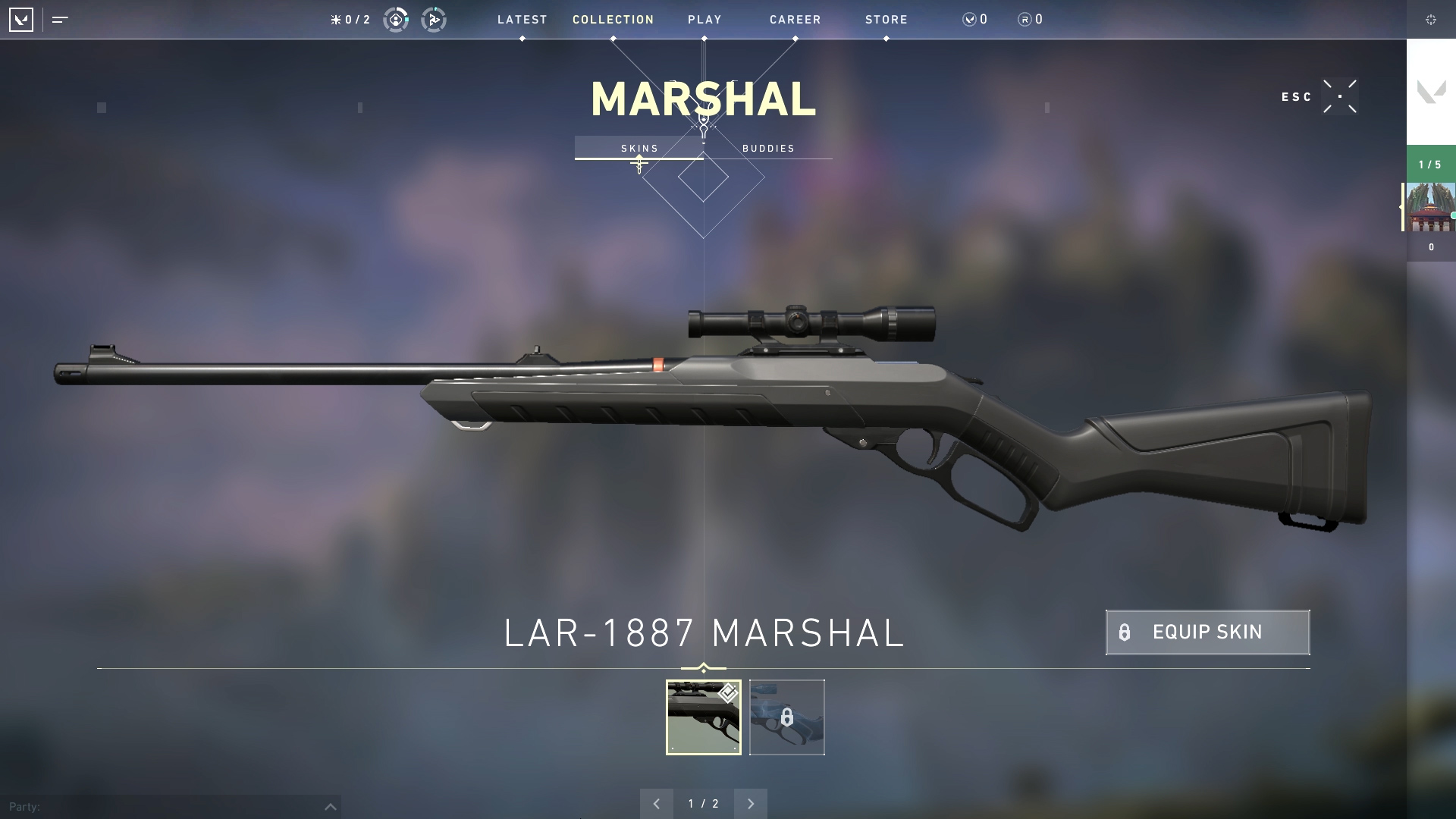 Valorant weapon stats Marshal
