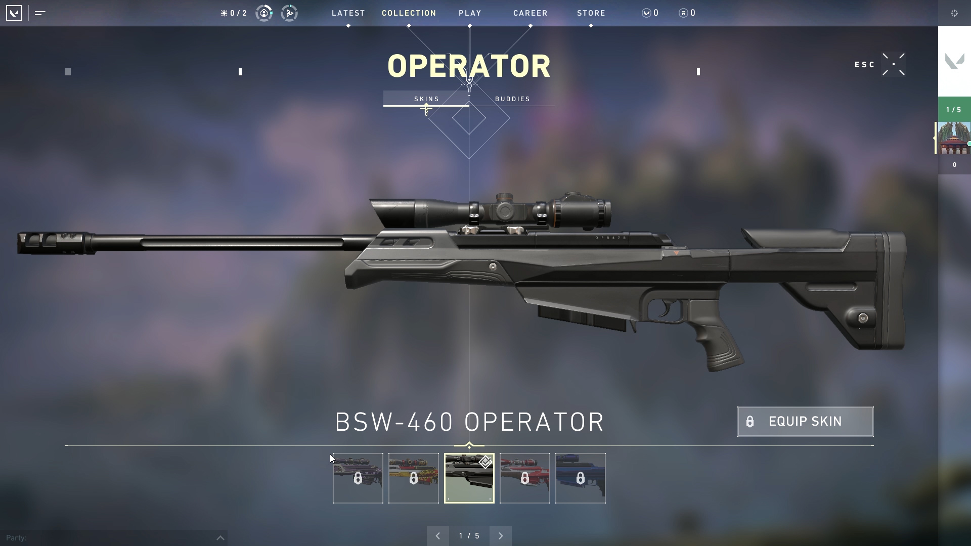 Valorant weapon stats Operator