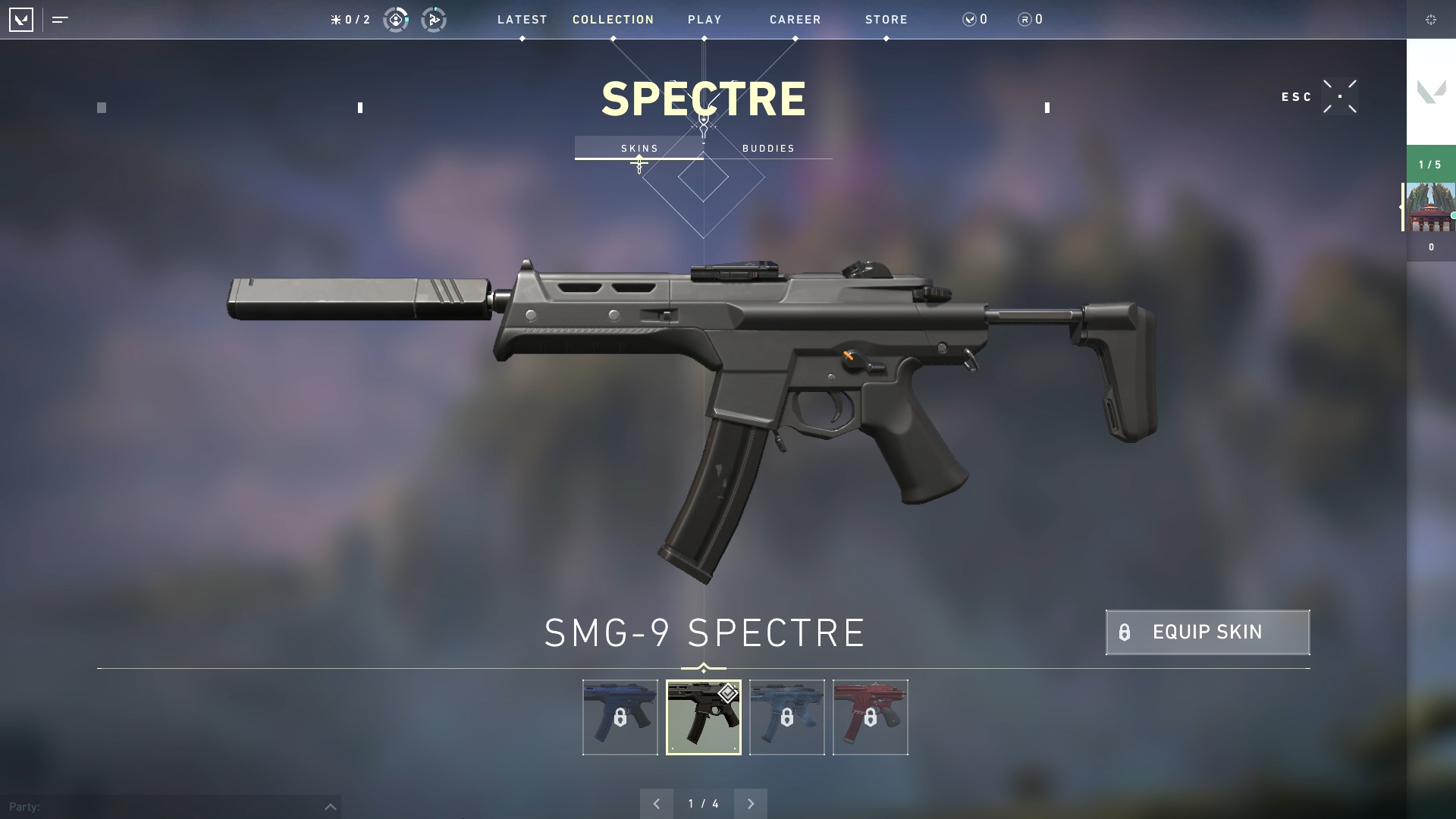 Valorant weapon stats Spectre