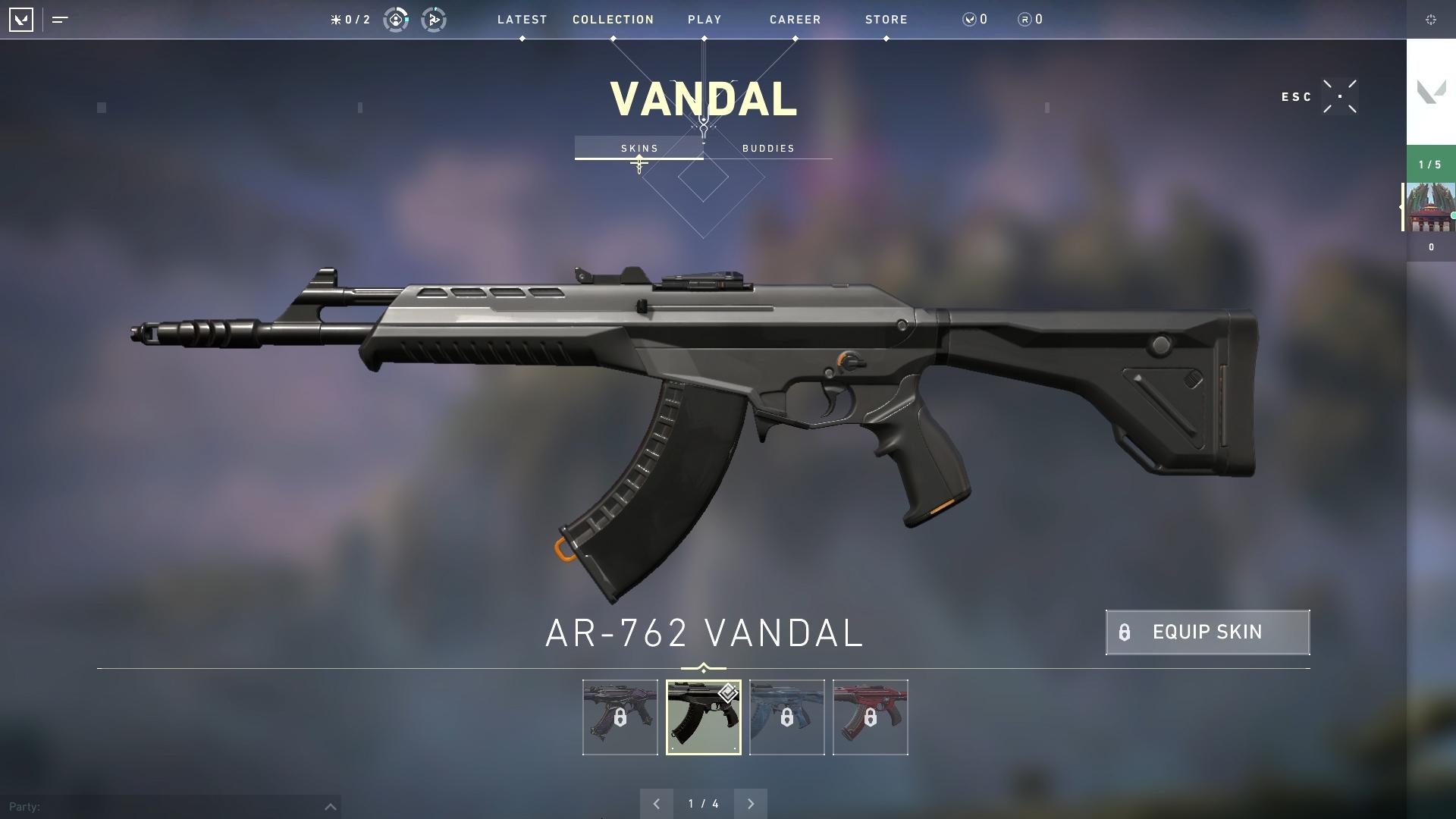 Valorant weapon stats Vandal