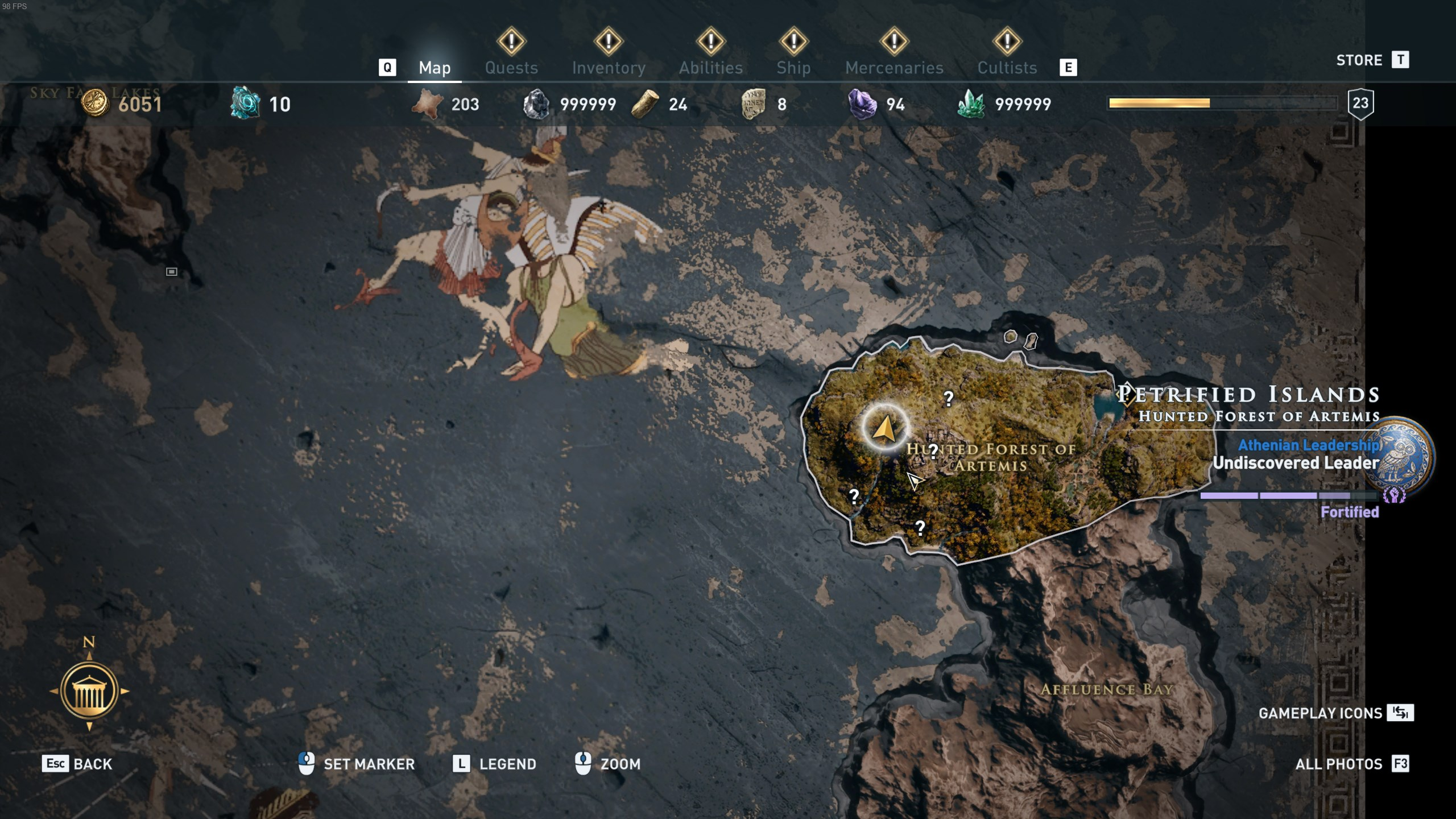 Assassin's Creed Odyssey - Iokaste the Seer location