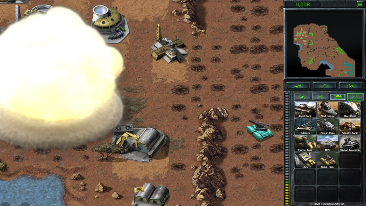 The Brotherhood of Nod Nuke Tank is one of the crazy experiments Electronic Arts and Pteroglyph are encouraging with the offering of the Command & Conquer Remastered source code.