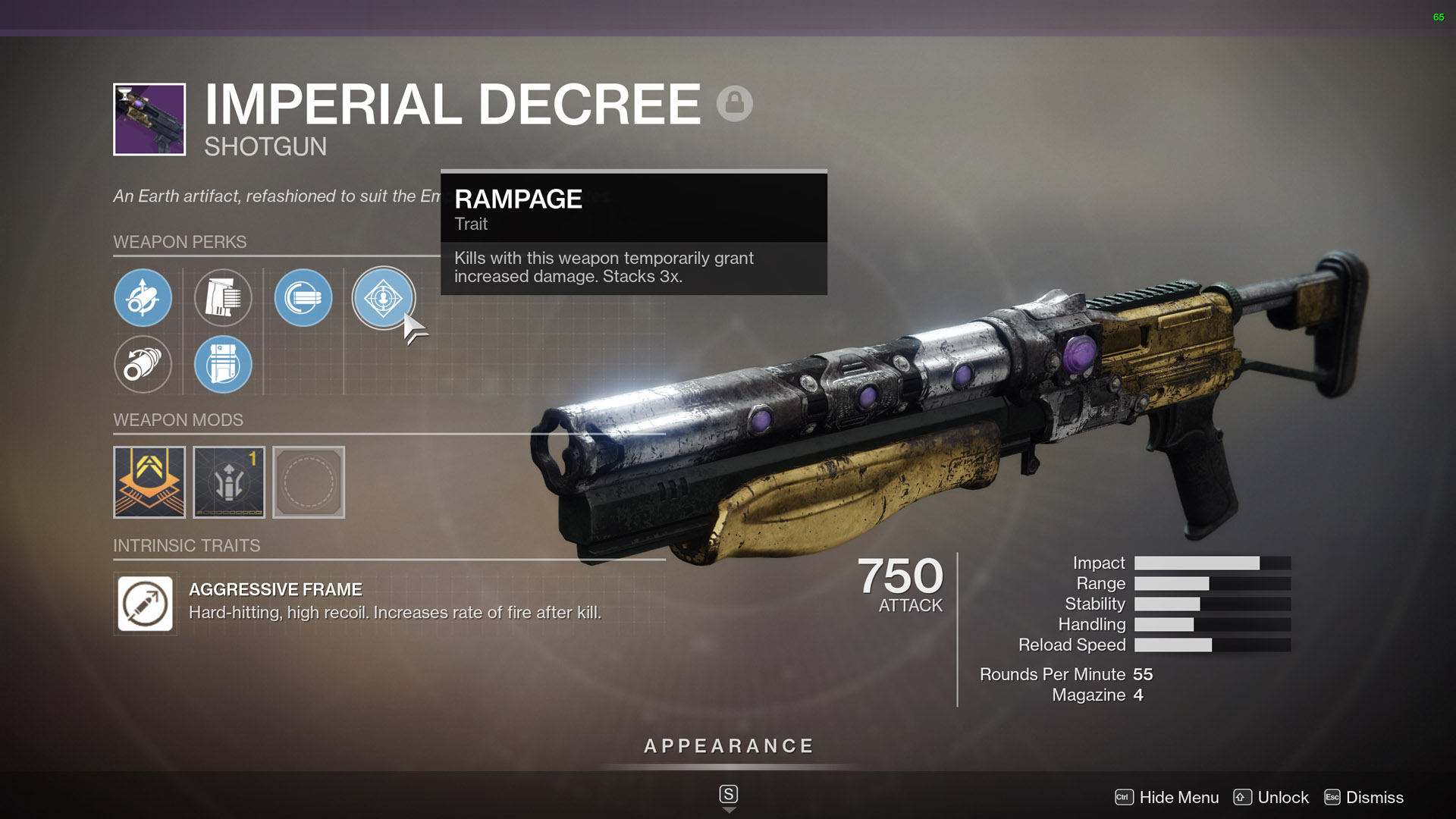 destiny 2 best shotguns Imperial Decree
