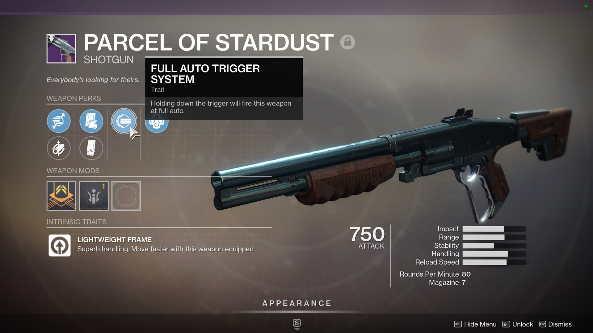 destiny 2 best shotguns Parcel of Stardust