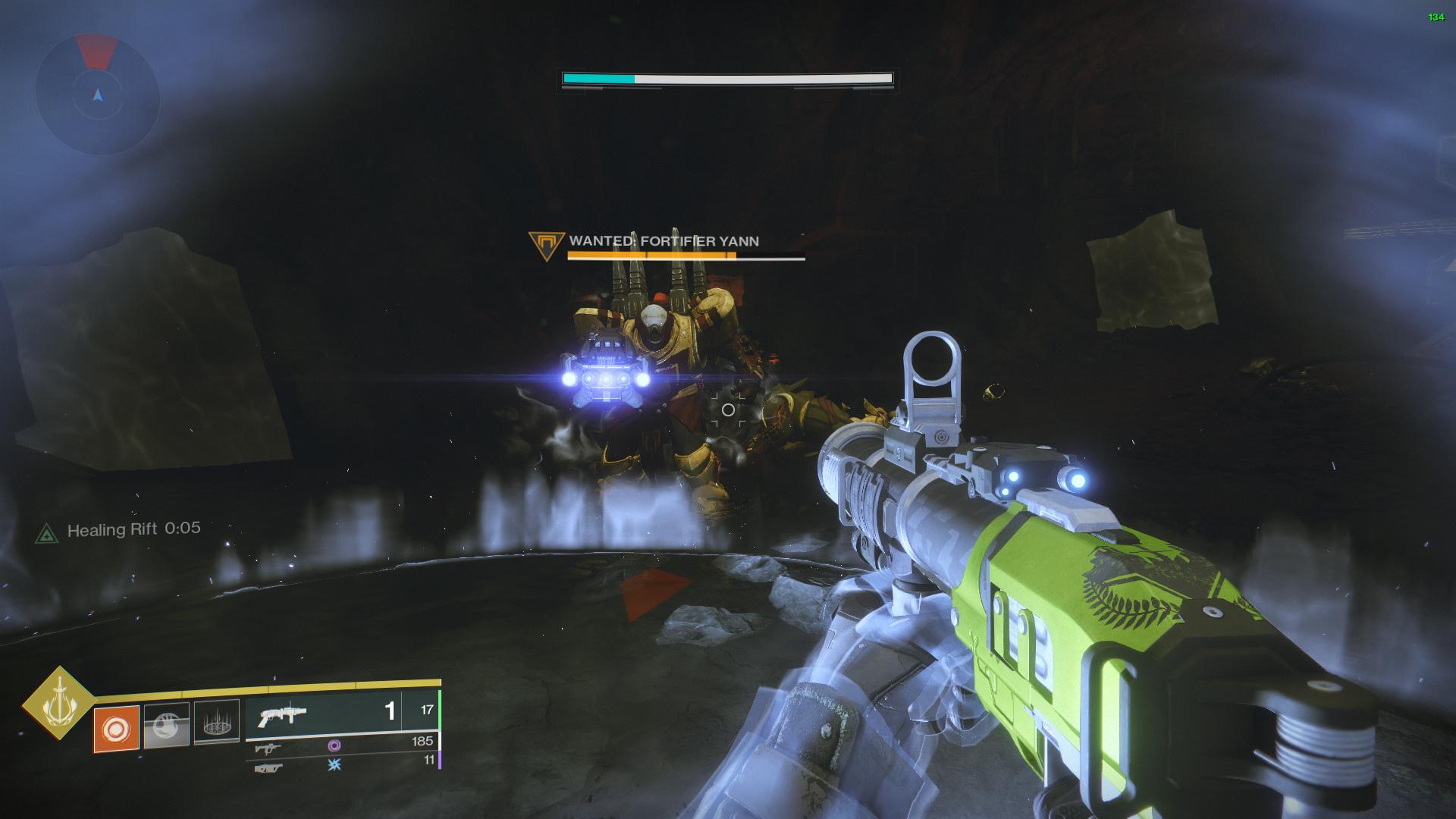 destiny 2 fortifier yann