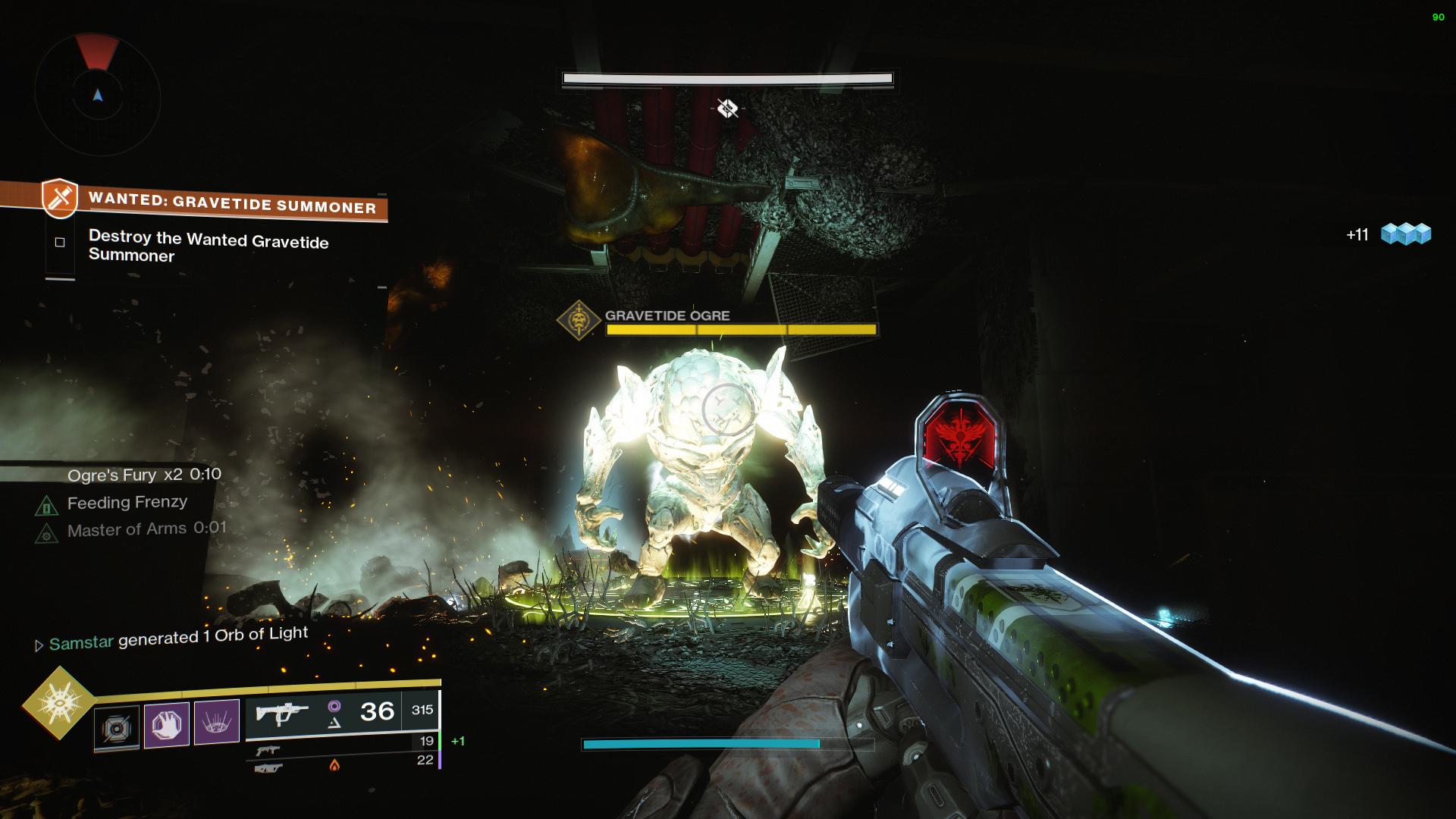 Destiny 2 Gravetide Ogre