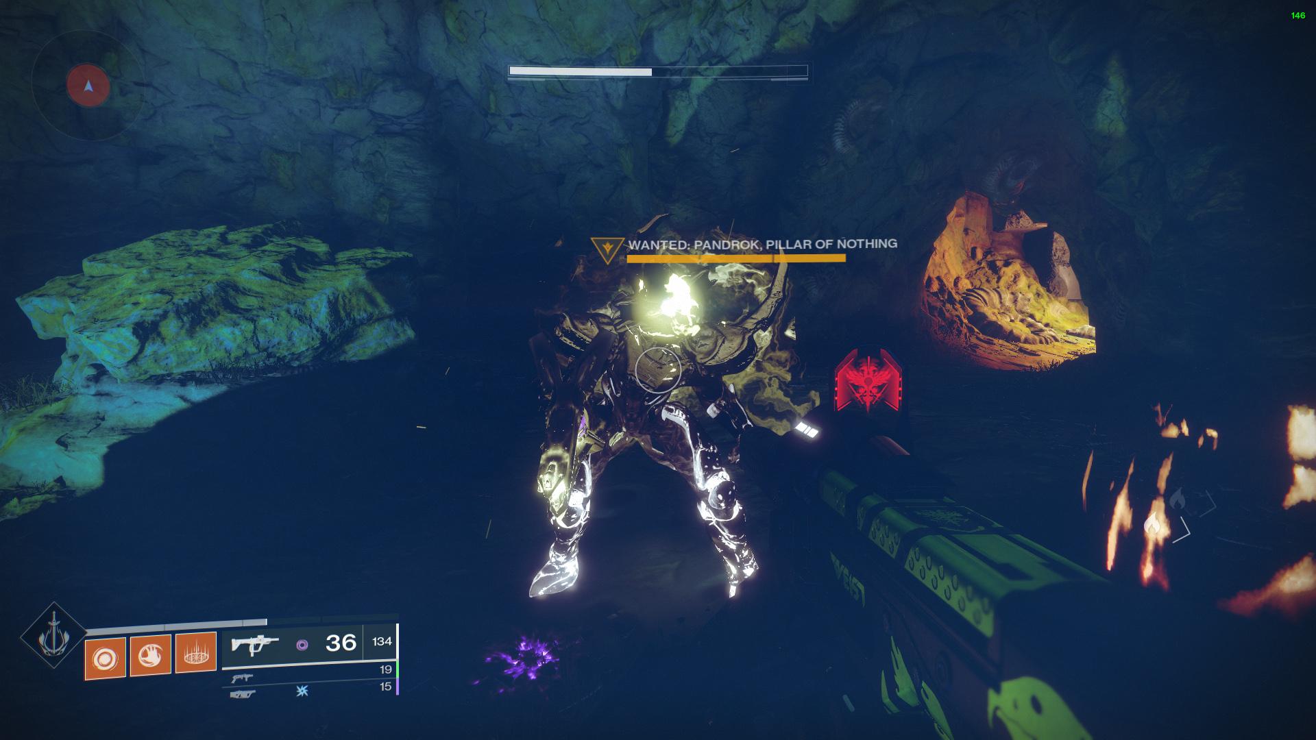 destiny 2 pandrok pillar of nothing