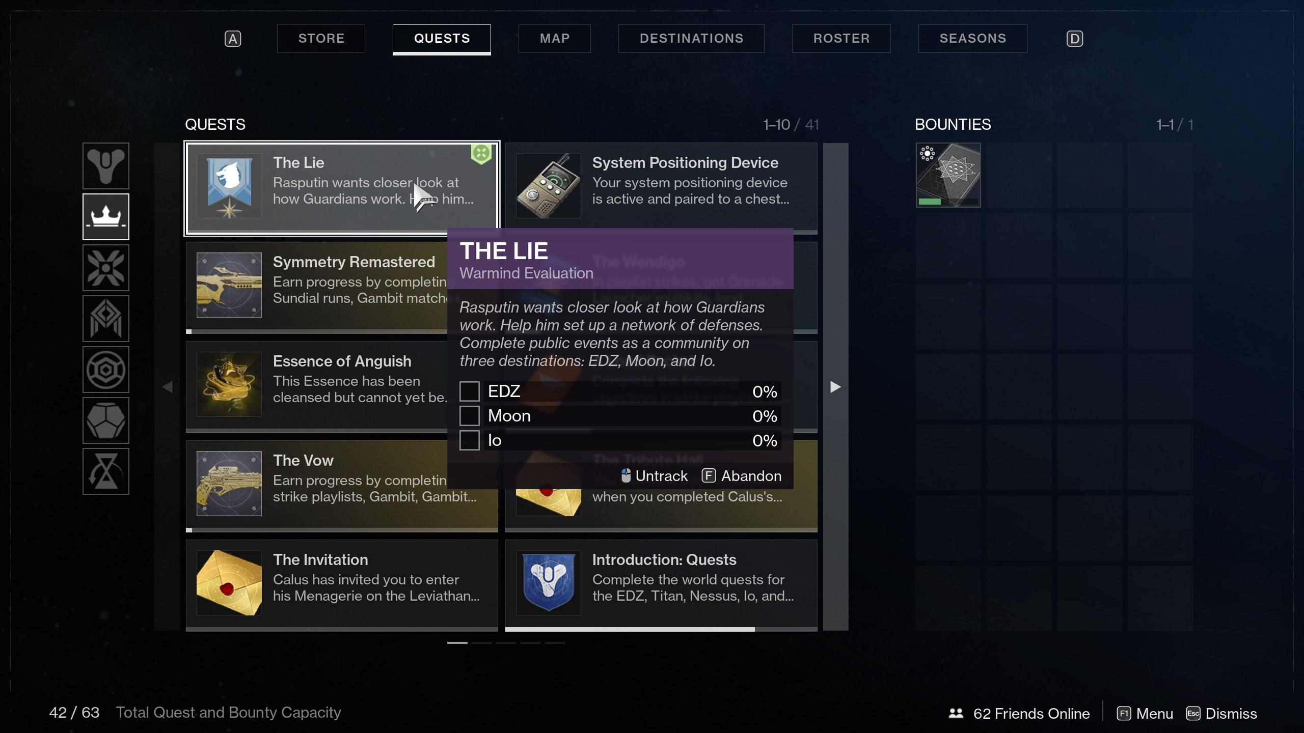 Felwinter's Lie quest - destiny 2