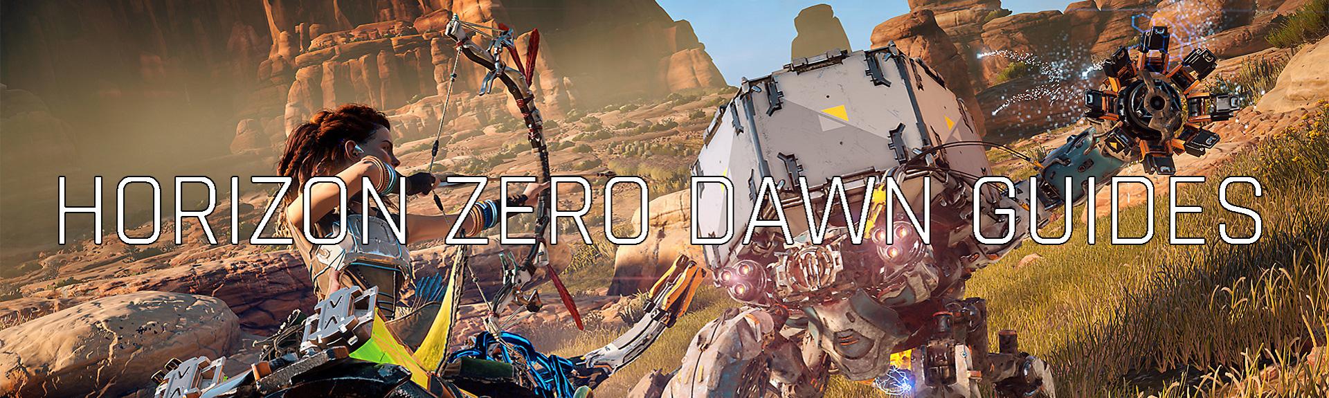 Horizon Zero Dawn guides