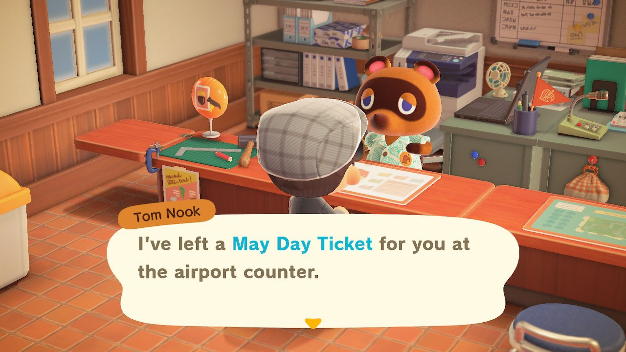 How to get your May Day Tour Ticket - Animal Crossing: New Horizons