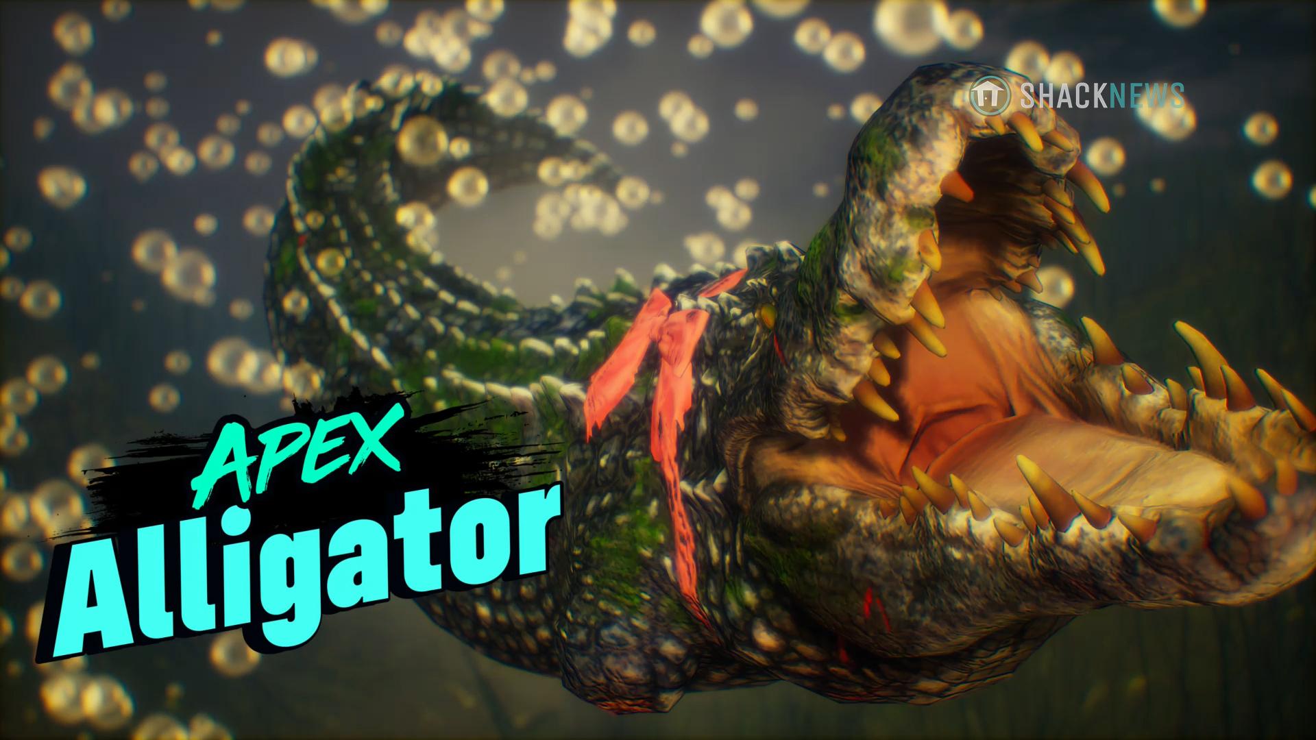 maneater apex predator alligator