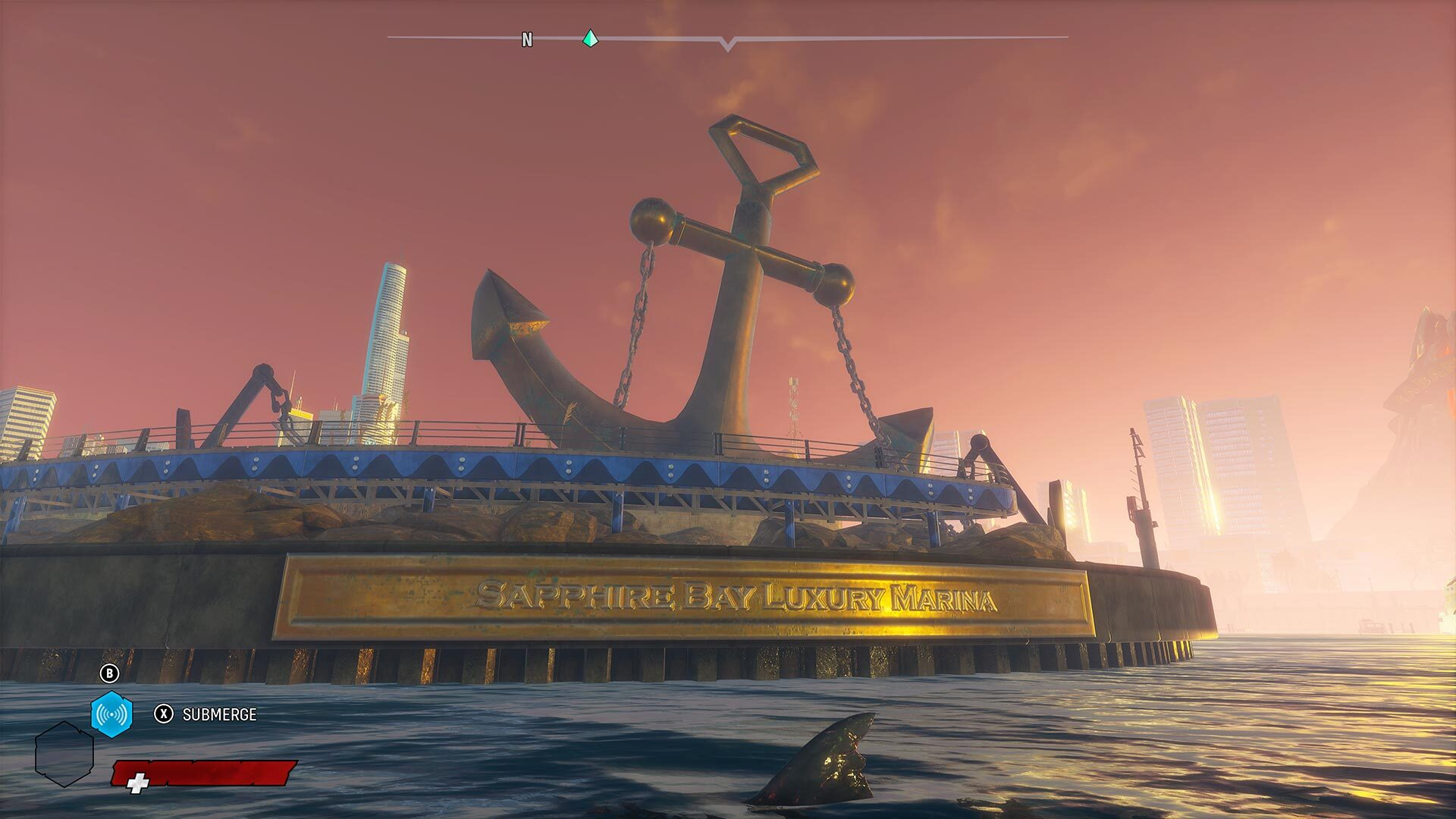 You'll explore several exotic locations throughout Maneater.