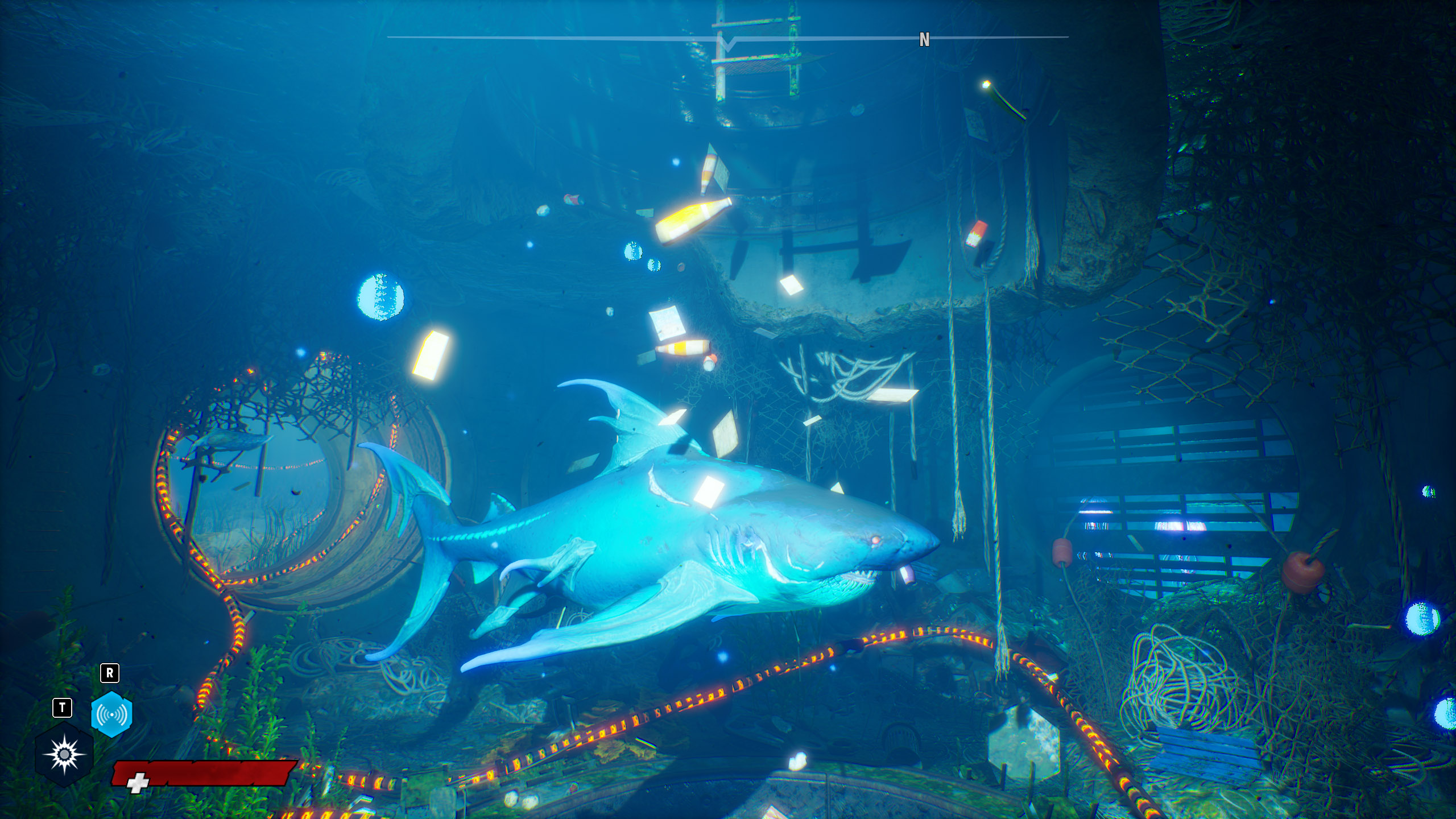 Maneater Bio-Electric Set shark upgrades