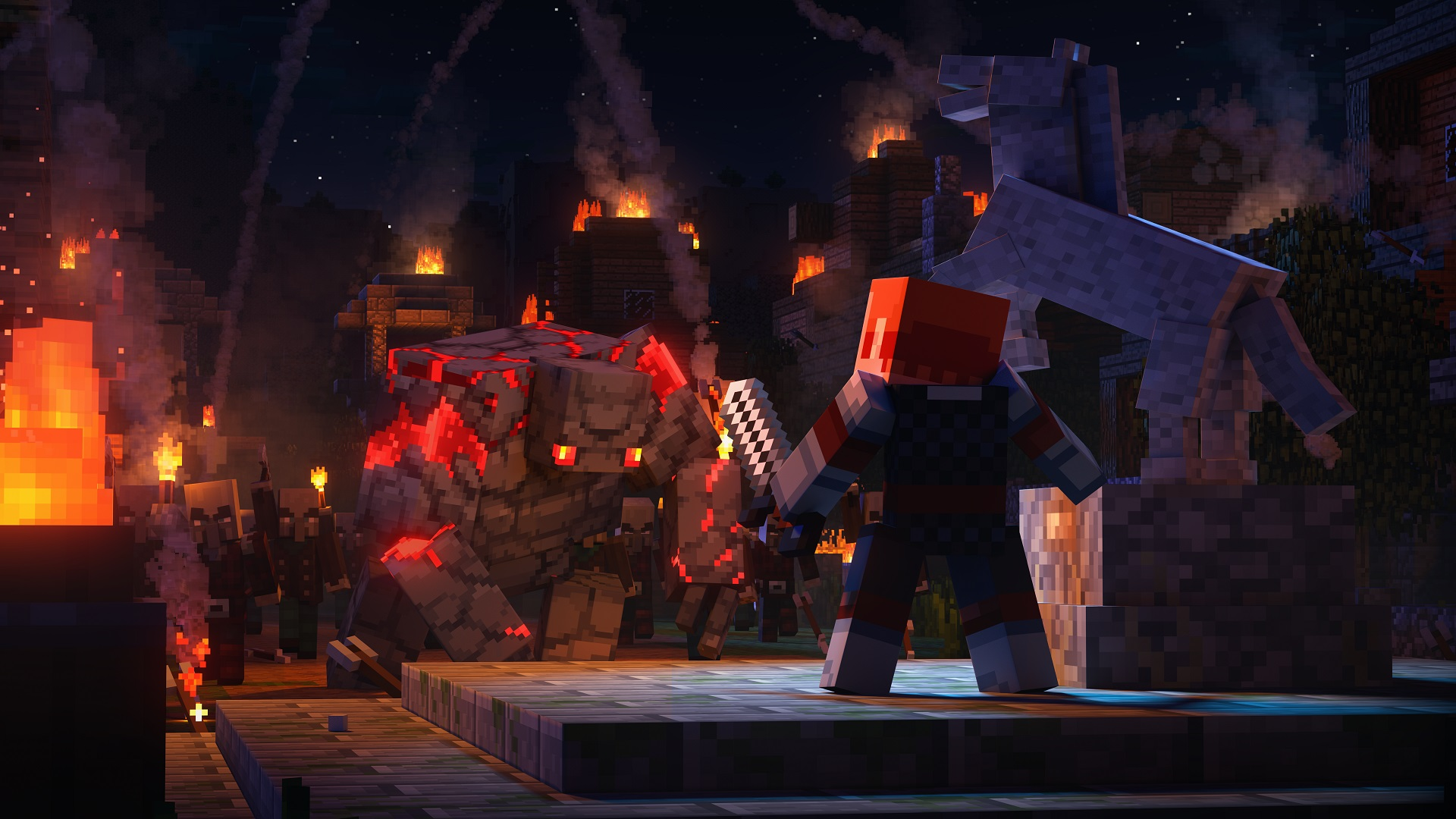 Does Minecraft Dungeons have cross-platform play?