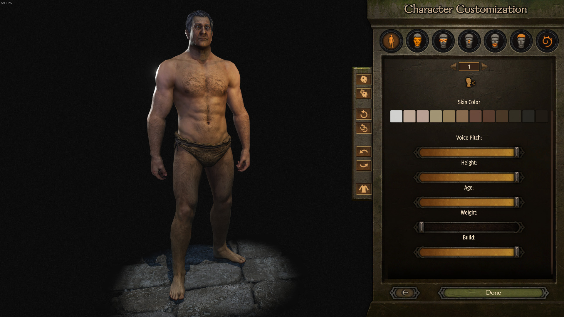 Mount & Blade 2 Bannerlord mod Detailed Character Creation