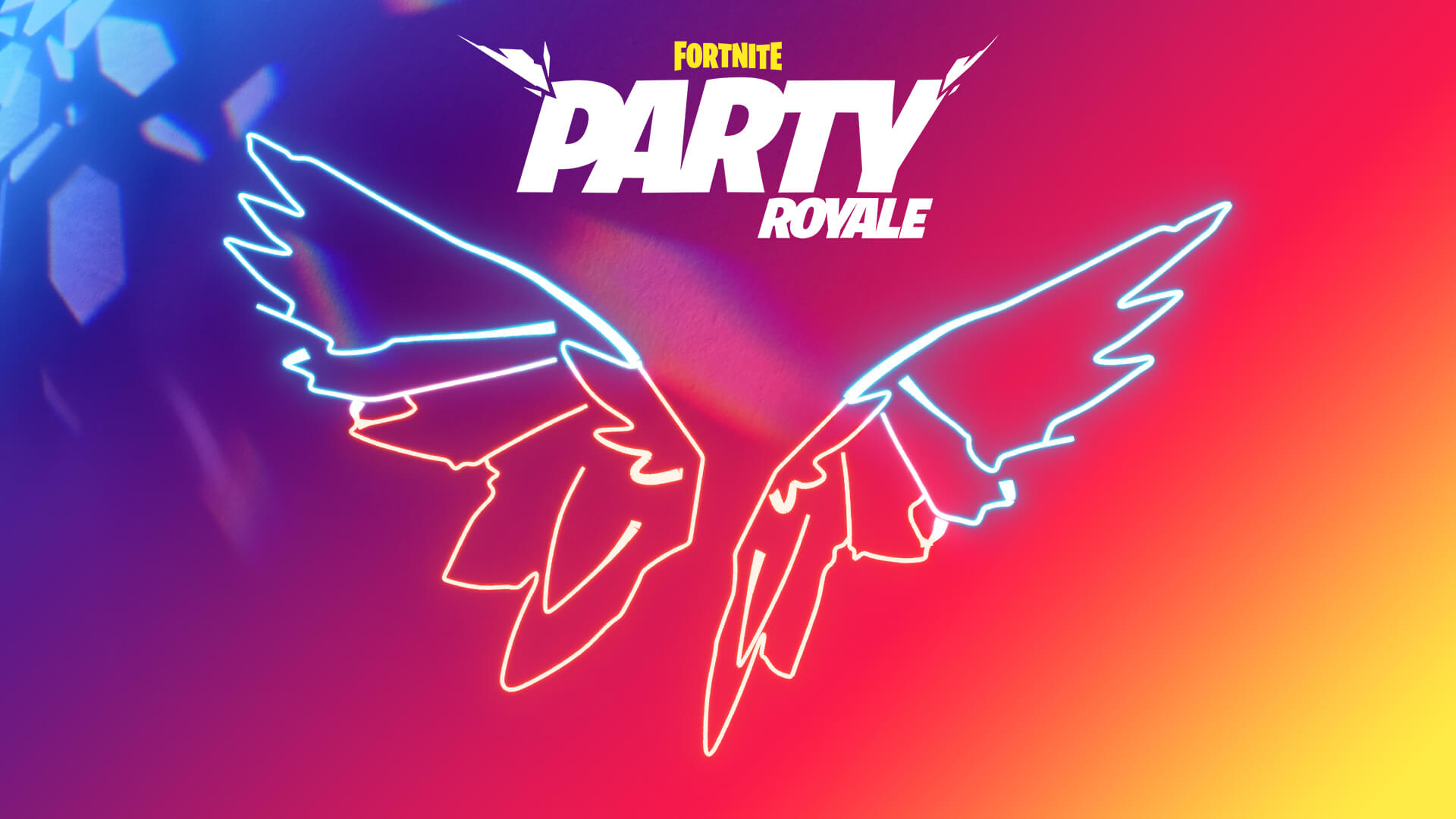 Fortnite party royale party favor
