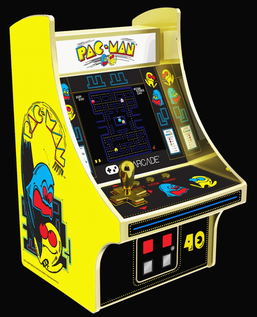 The My Arcade Pac-Man 40th Anniversary Edition Micro Player is a solid looking little machine that should be a fun addition to any classic gaming collection.