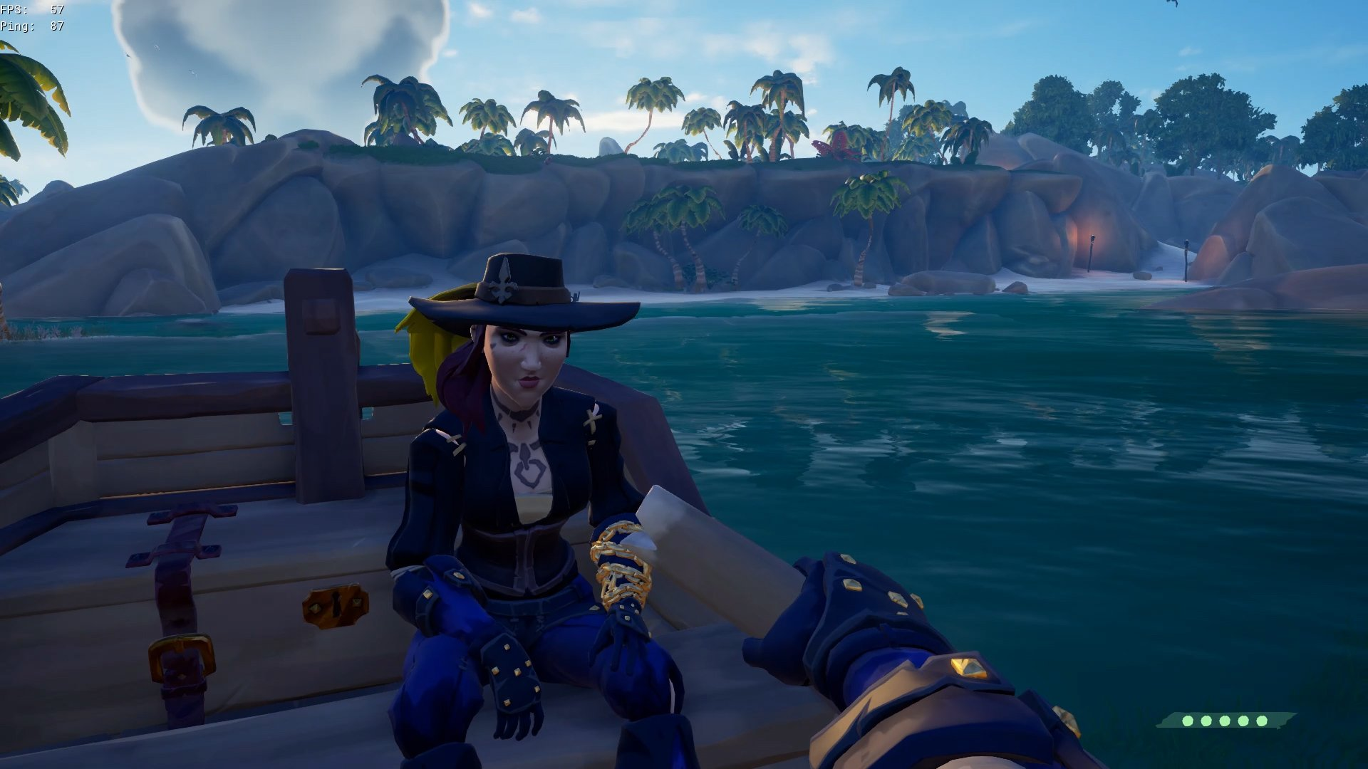 sea of thieves rowboat fix