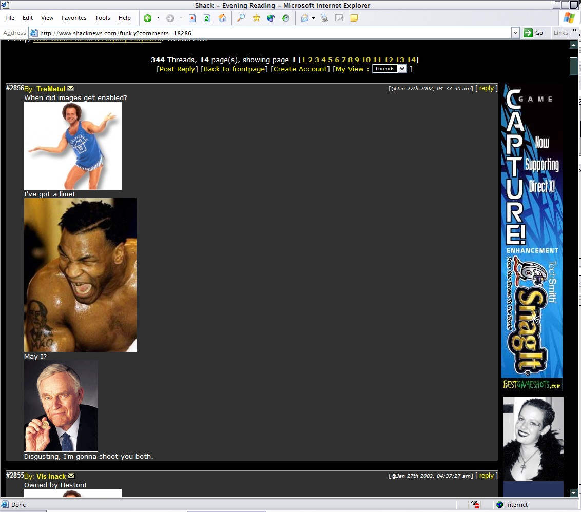 That time Shacknews.com got hacked with pictures of Tyson.