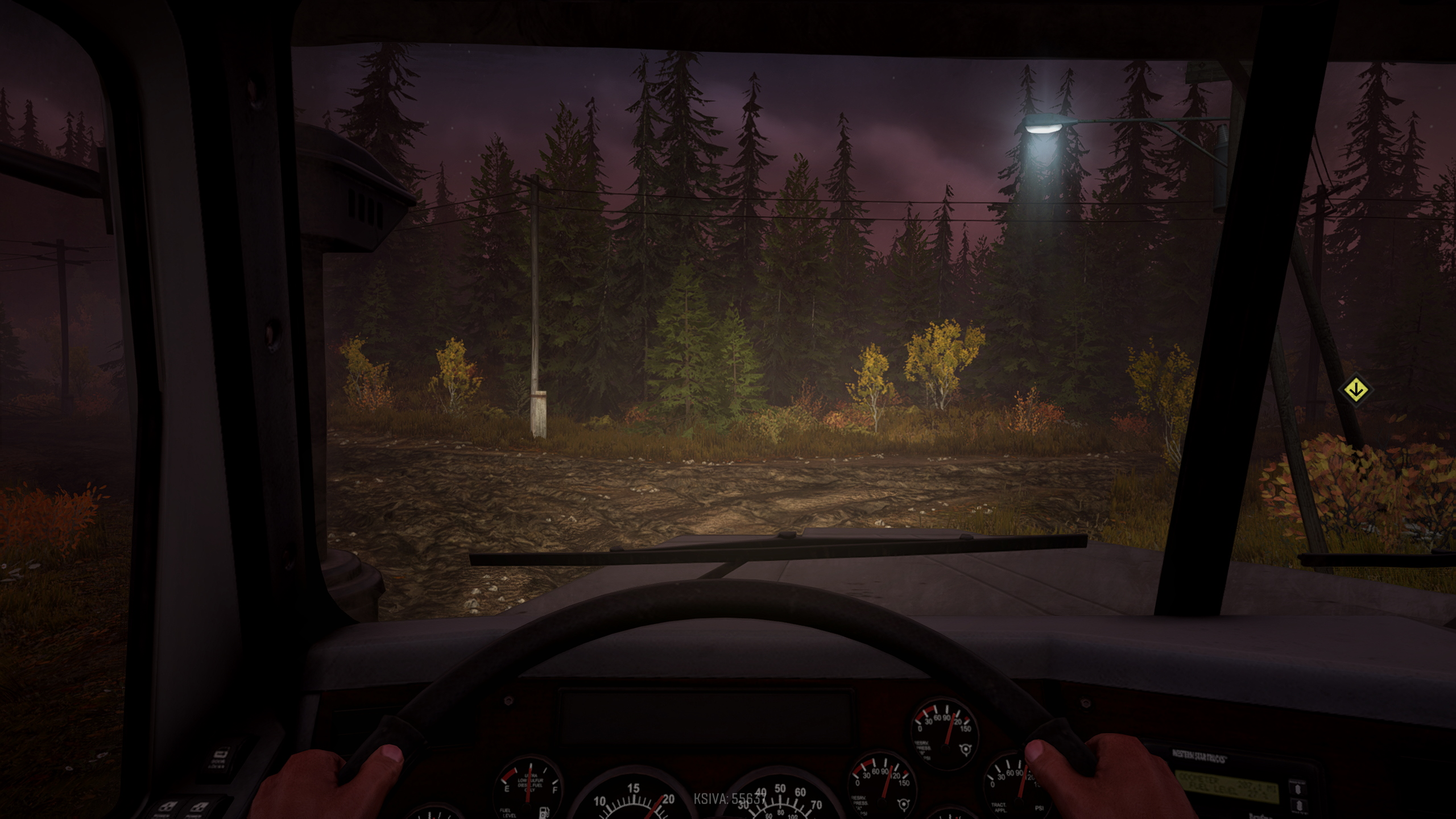 SnowRunner has a proper in-cab camera that shows off the detailed interiors of its licensed trucks.