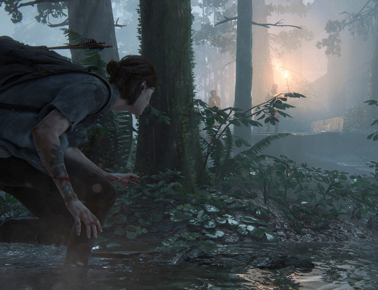 Naughty Dog's The Last of Us II.