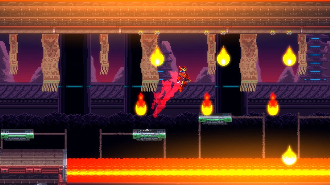 From lush pixel art to hype music, our early look at 30XX showed promise of a cornucopia of retro action-platforming delight.
